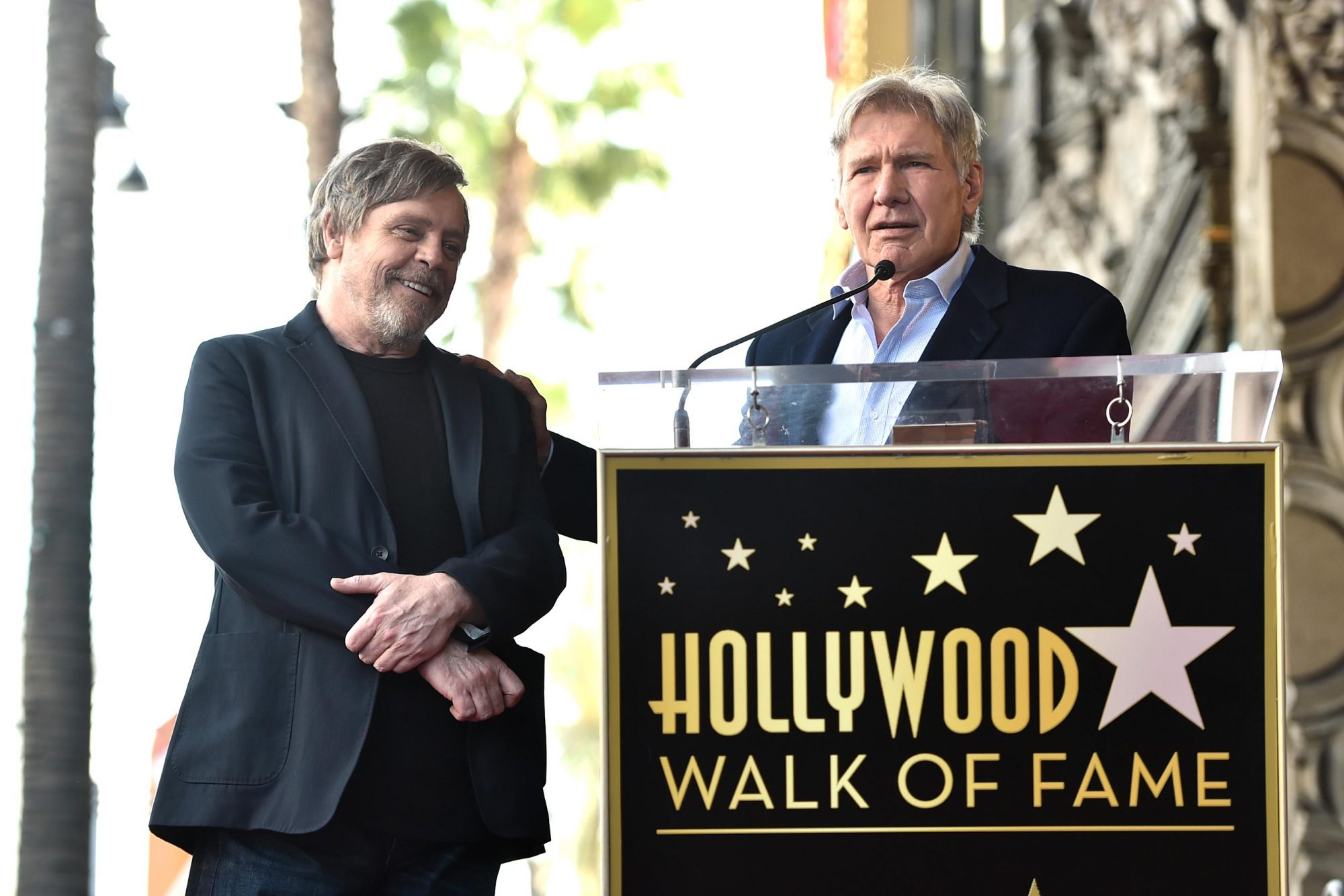 Mark Hamill is Honored with Star on the Hollywood Walk of Fame
