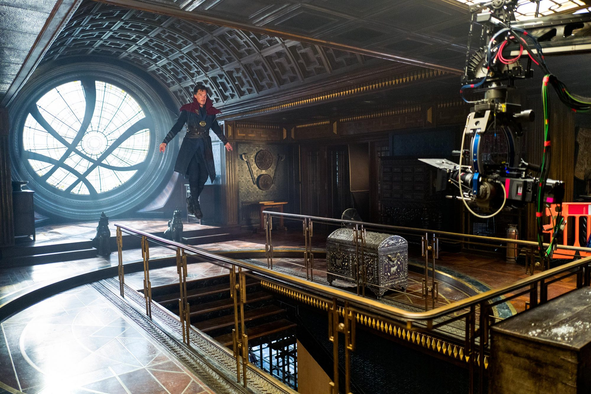 MARVEL'S DOCTOR STRANGEBenedict Cumberbatch on set