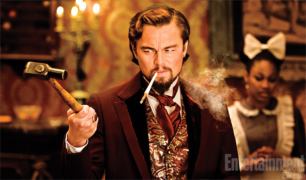 Leo never looks like he is having as much fun as he does under Quentin Tarantino's tutelage. Playing the dastardly plantation owner Calvin Candie, DiCaprio…
