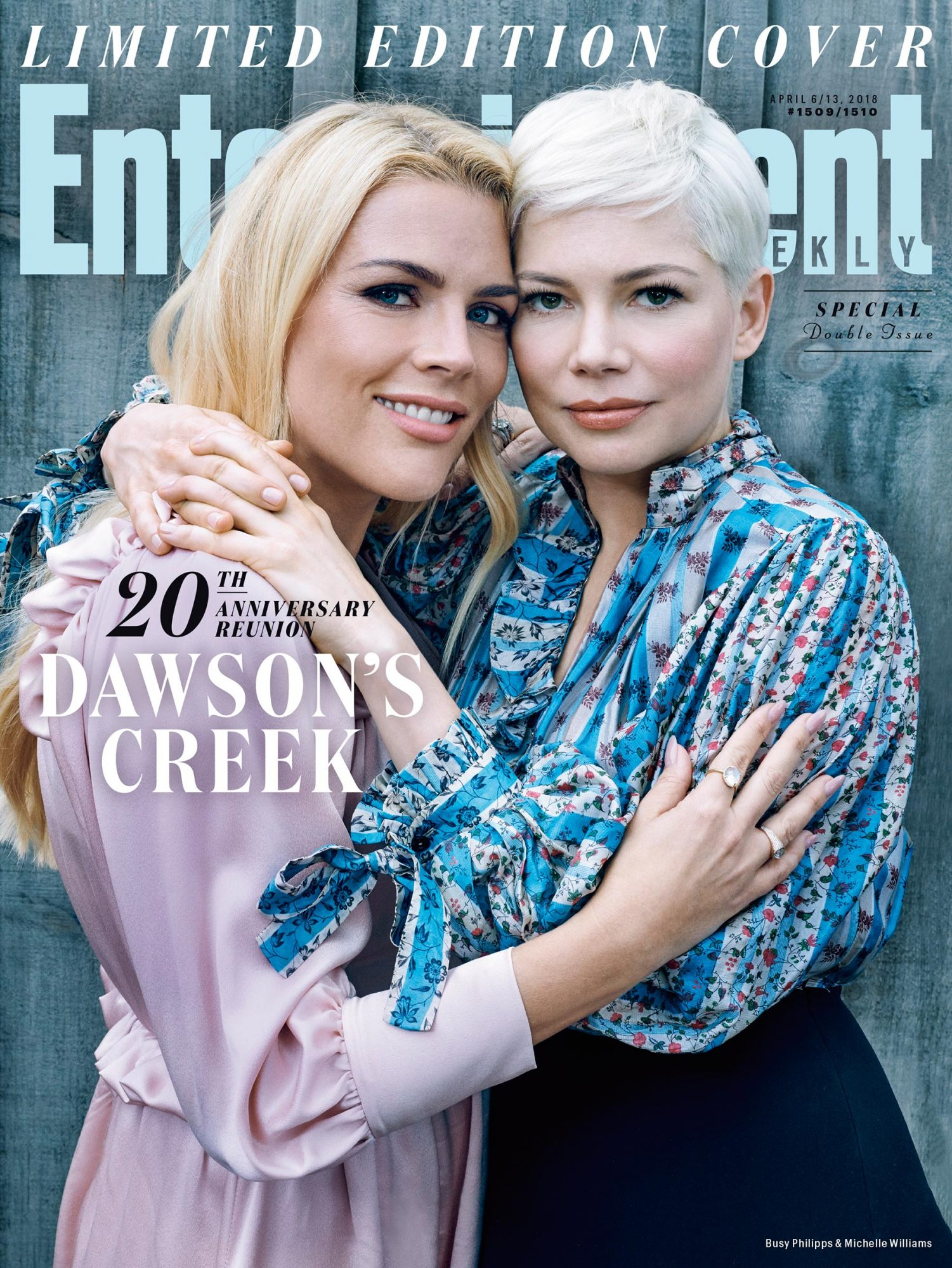 Busy Philipps and Michelle Williams cover
