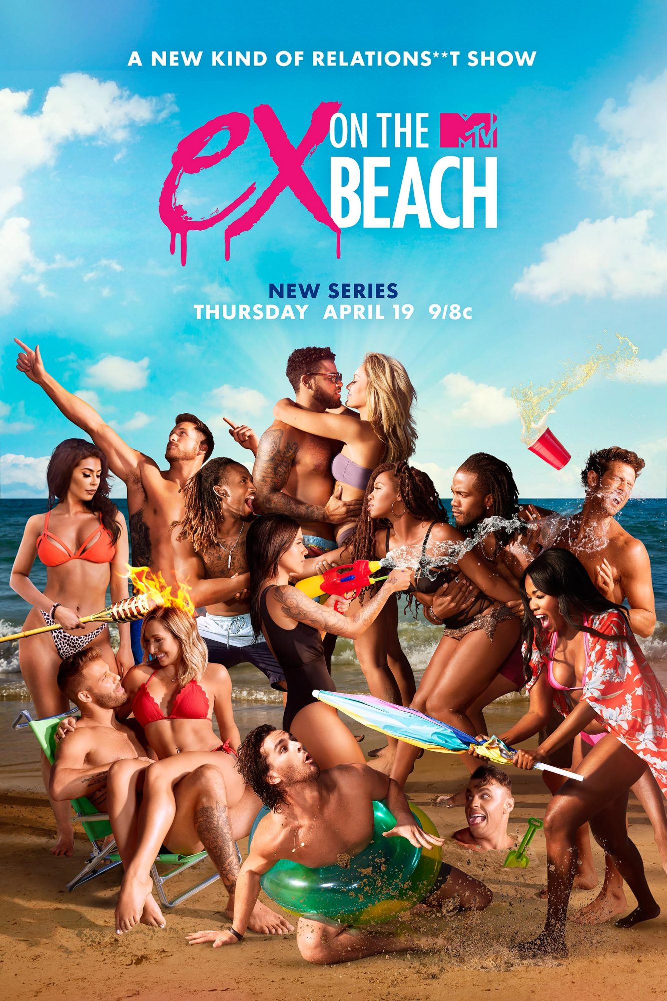Ex On The Beach Key Art CR: MTV