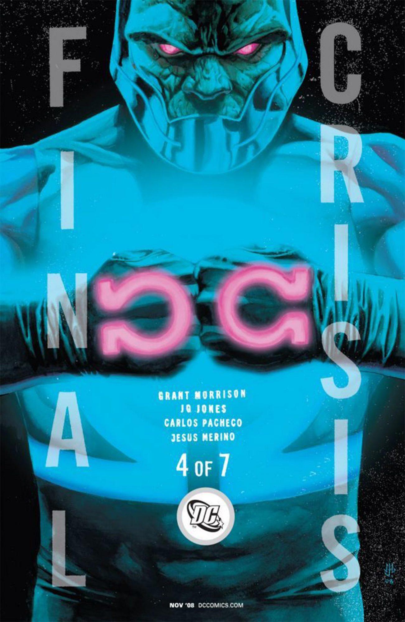 Final Crisis #4 CR: DC Comics
