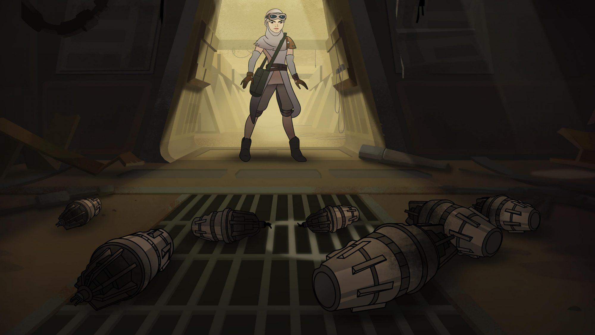 Star Wars: Forces of Destiny CR: Lucasfilm