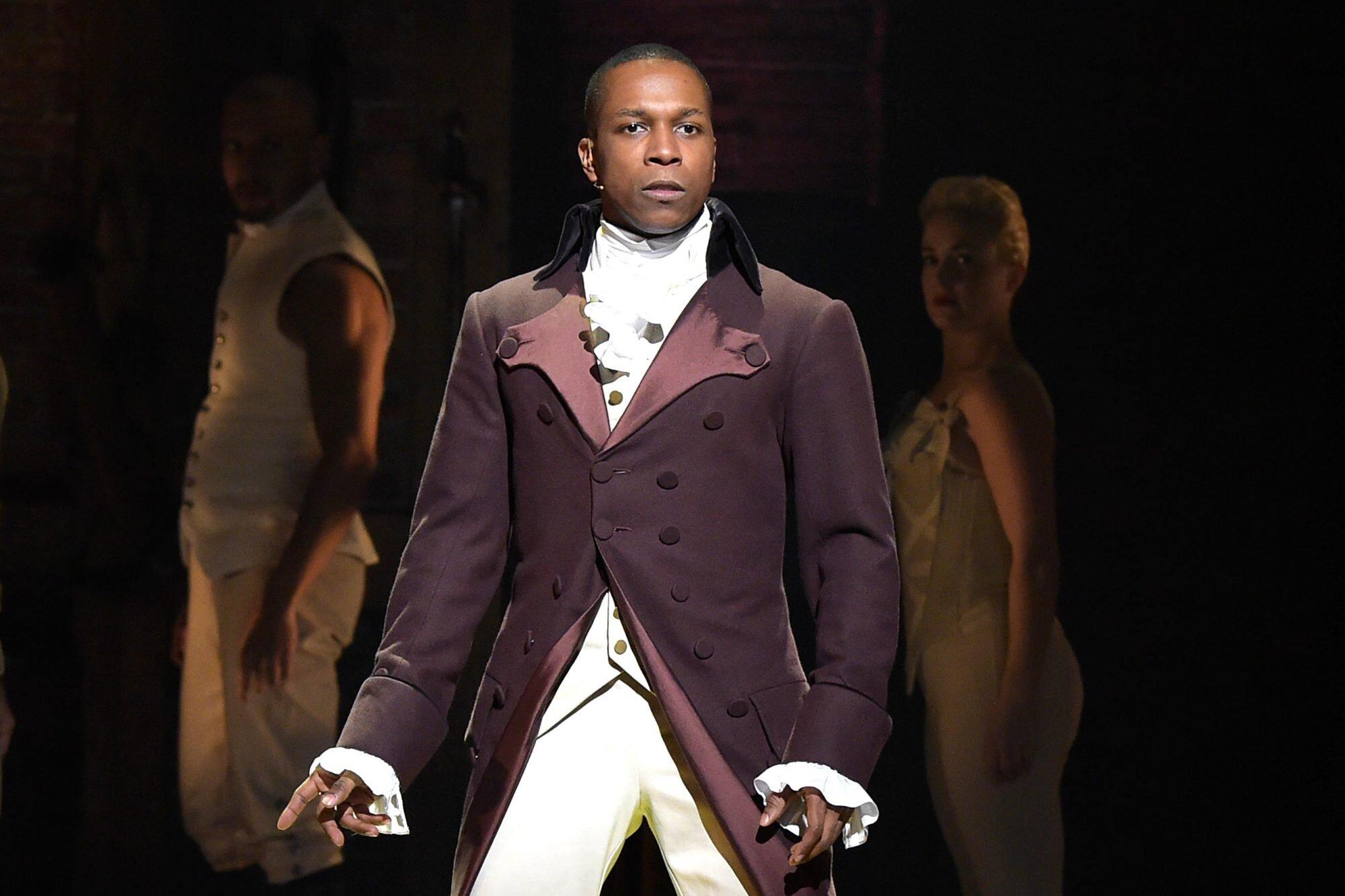Hamilton: Leslie Odom Jr. would reprise Aaron Burr role if ...