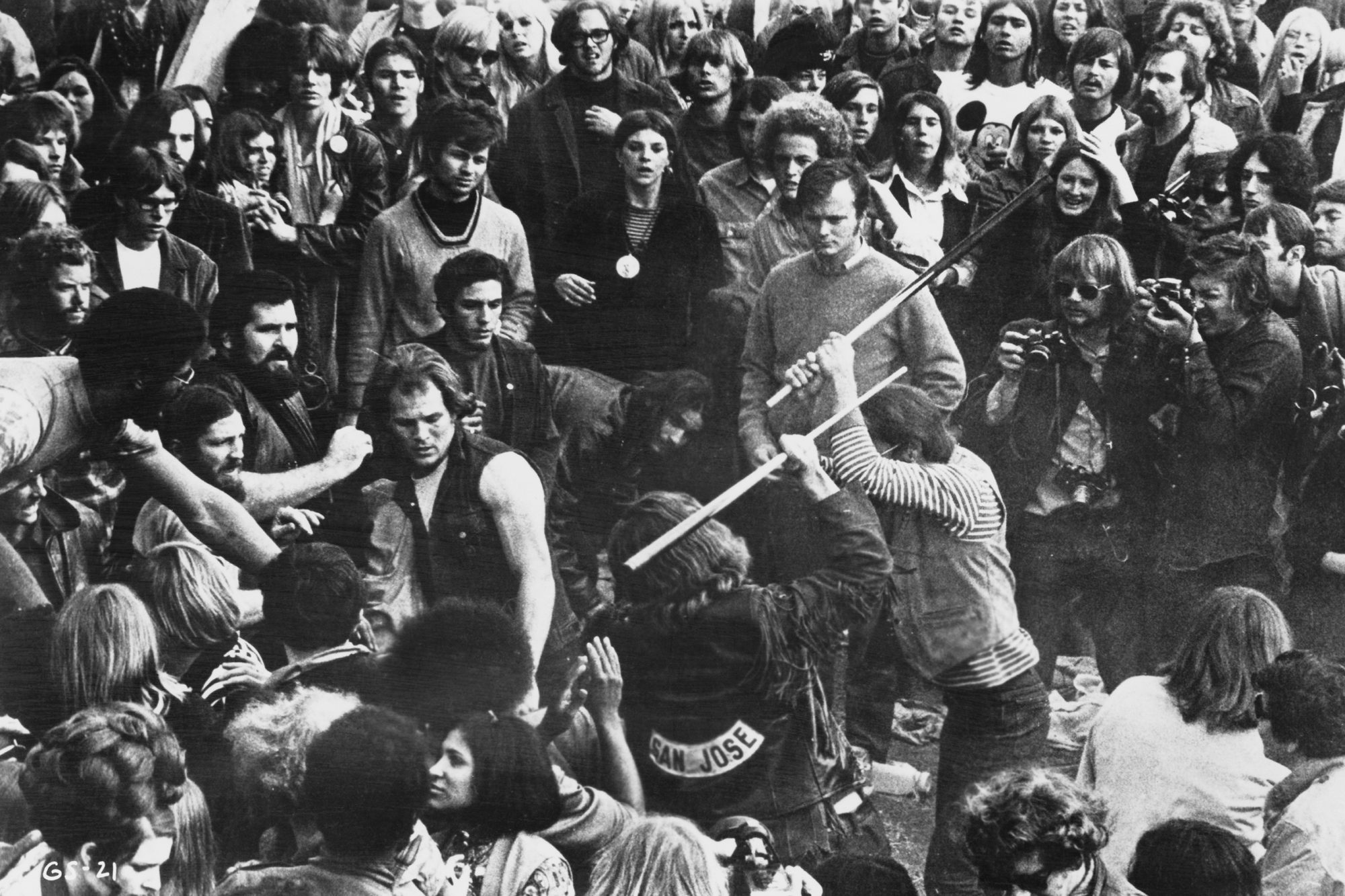 Trouble At Altamont