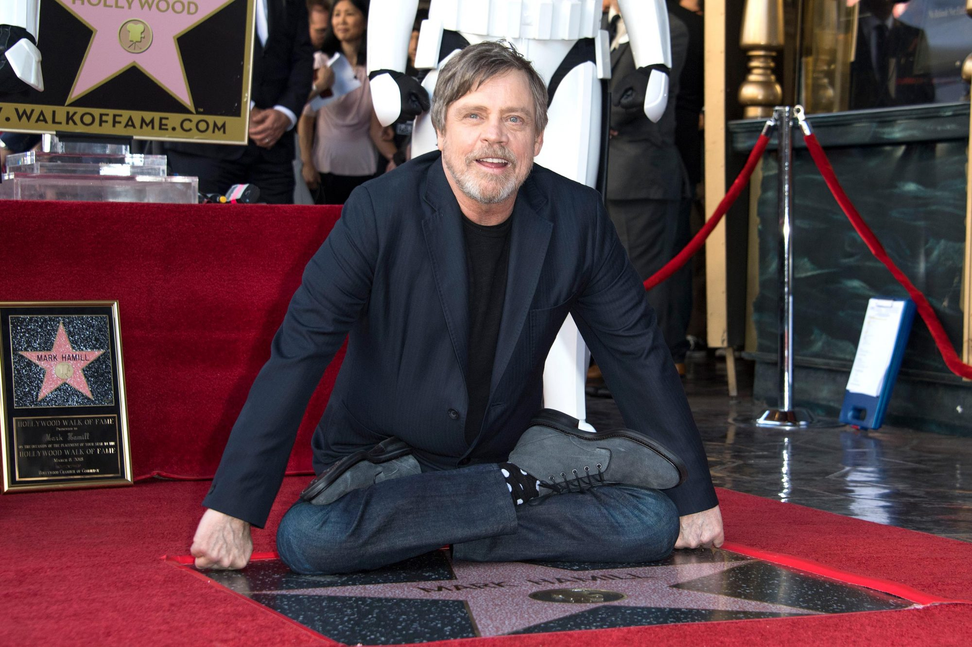 US-ENTERTAINMENT-HWOF-HAMILL-film