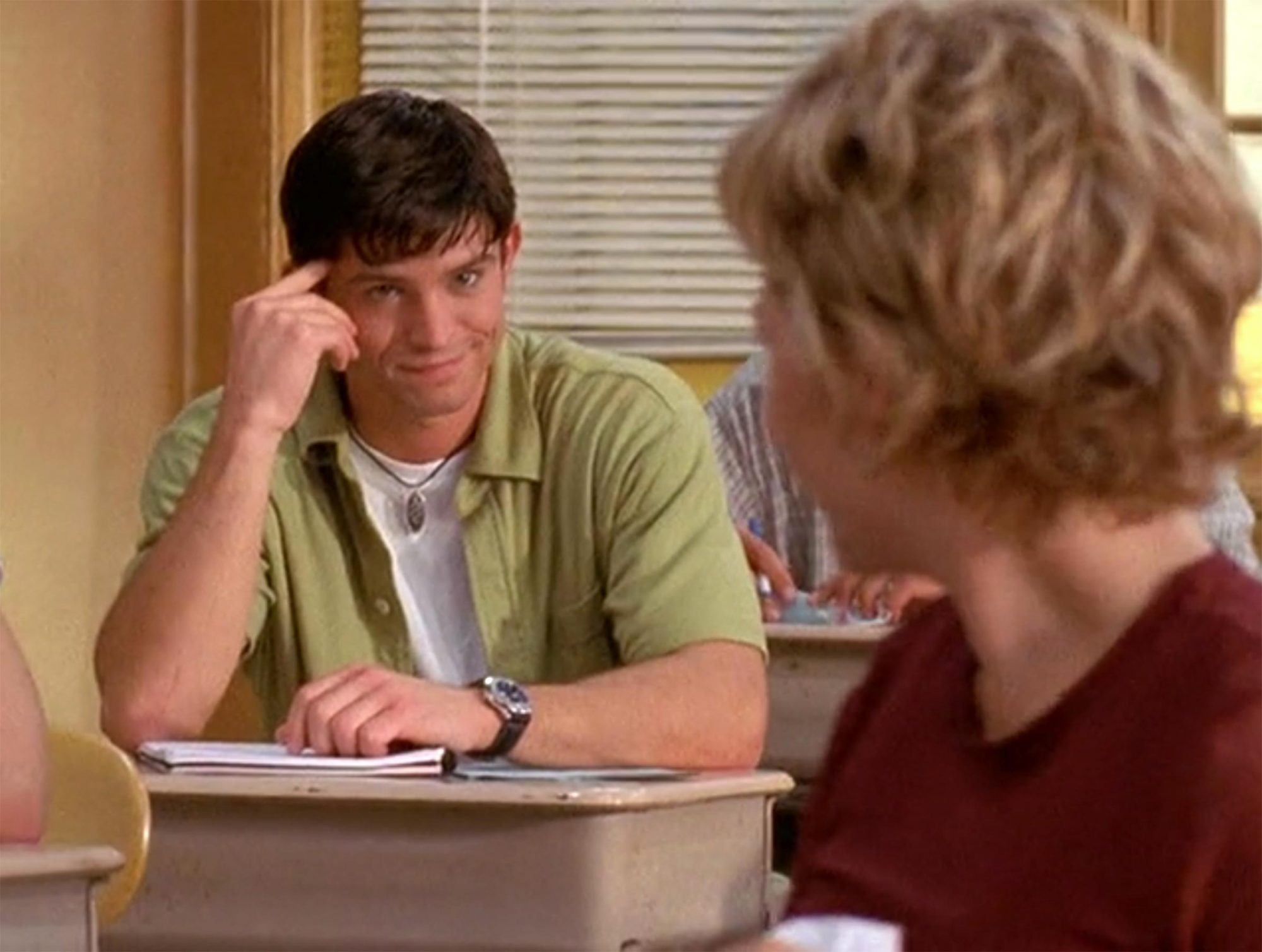 Jason Behr: Chris Wolfe, Season 2