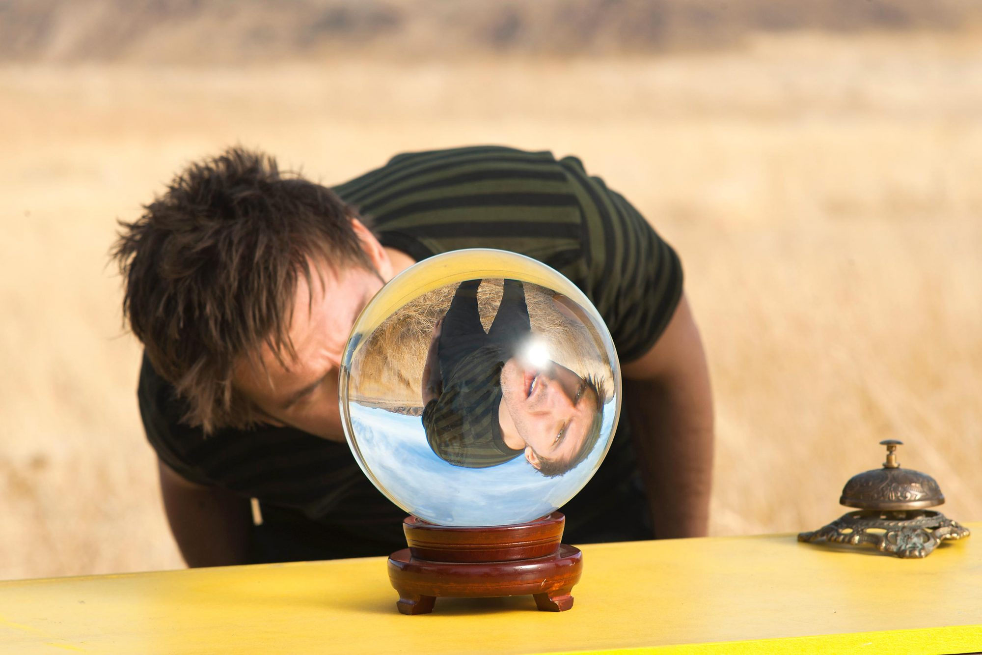 LEGION Pictured: Dan Stevens as David Haller.