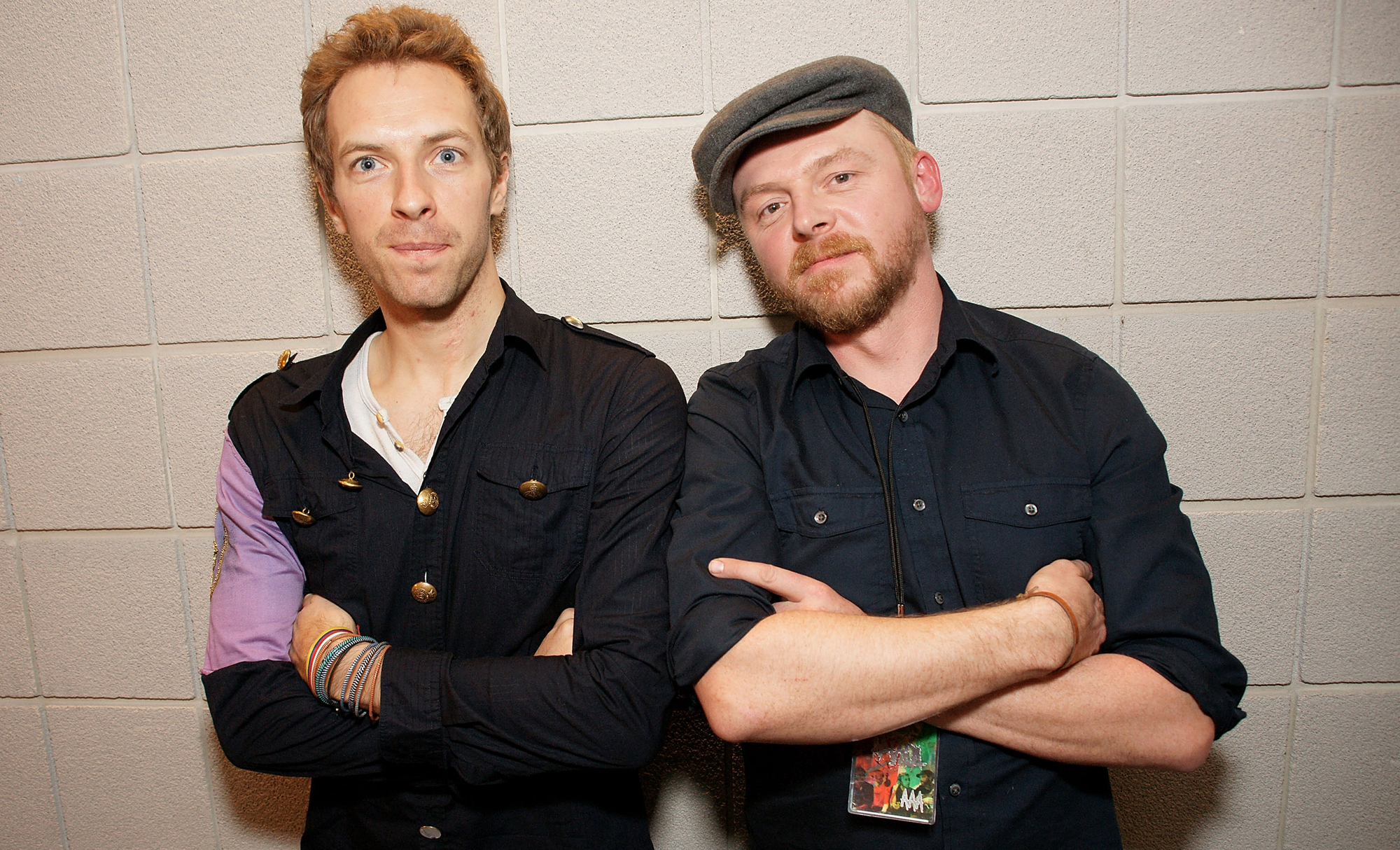 Coldplay Performing In London: Backstage