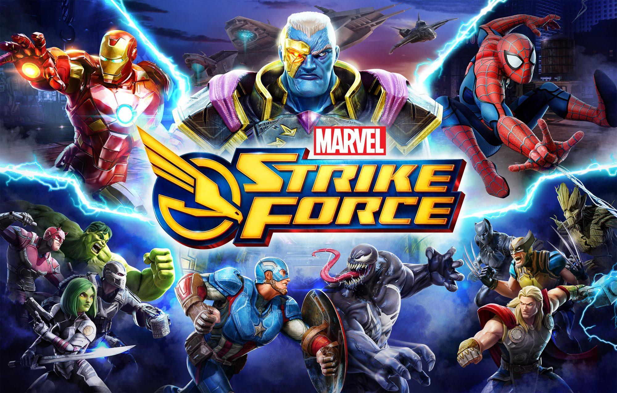 MARVEL Strike Force Key Art CR: Marvel/FoxNext