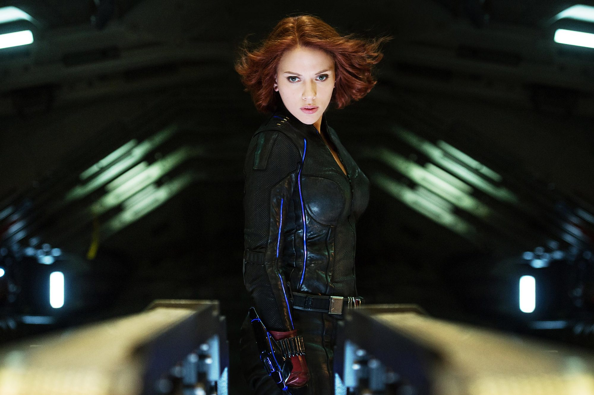 AVENGERS: AGE OF ULTRON, Scarlett Johansson as Natasha Romanoff/Black Widow, 2015. ph: Jay Maidment