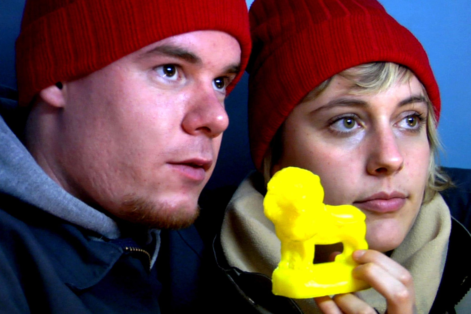 NIGHTS AND WEEKENDS, from left: Joe Swanberg, Greta Gerwig, 2008. Ph: Matthias Grunsky/©IFC Films/Co