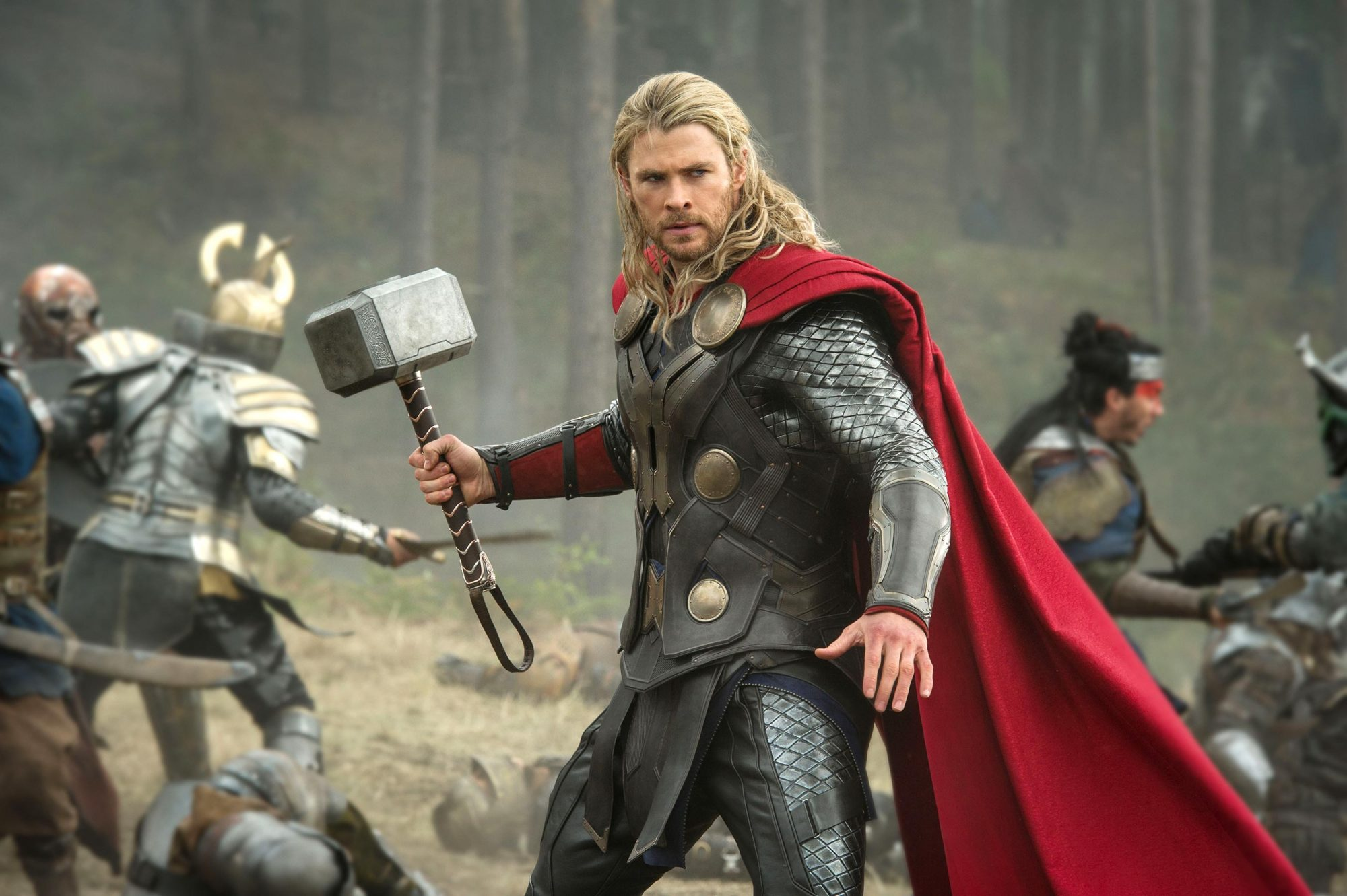 THOR: THE DARK WORLD, Chris Hemsworth as Thor, 2013. ph: Jay Maidment/©Walt Disney Studios/courtesy