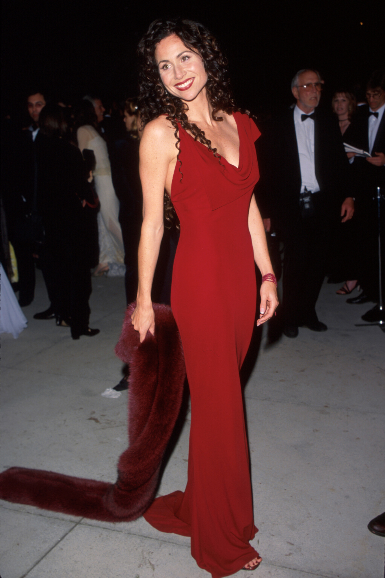 Best Supporting Actress nominee Minnie Driver (Good Will Hunting)