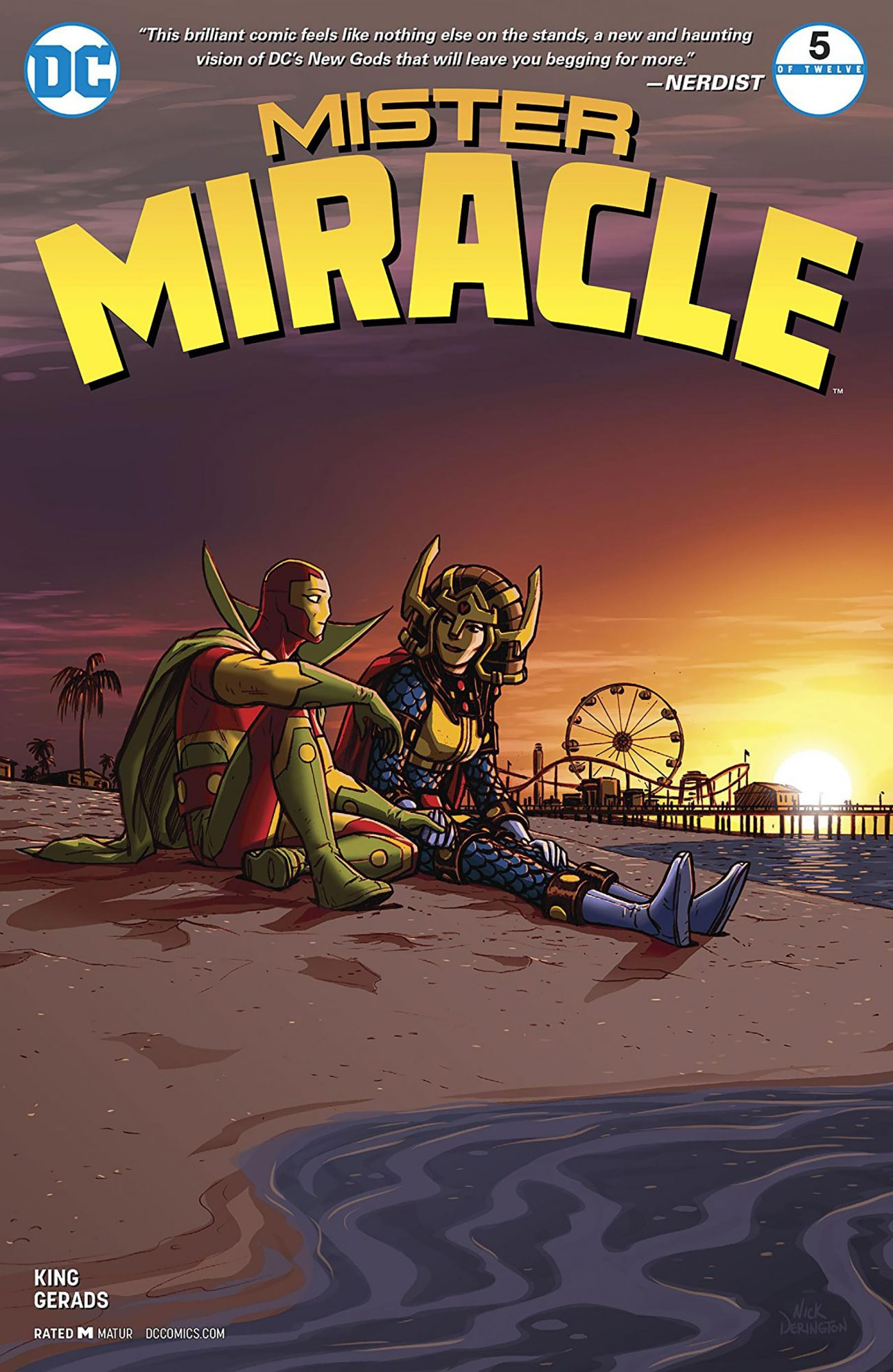 Mister Miracle #5 CR: DC Comics