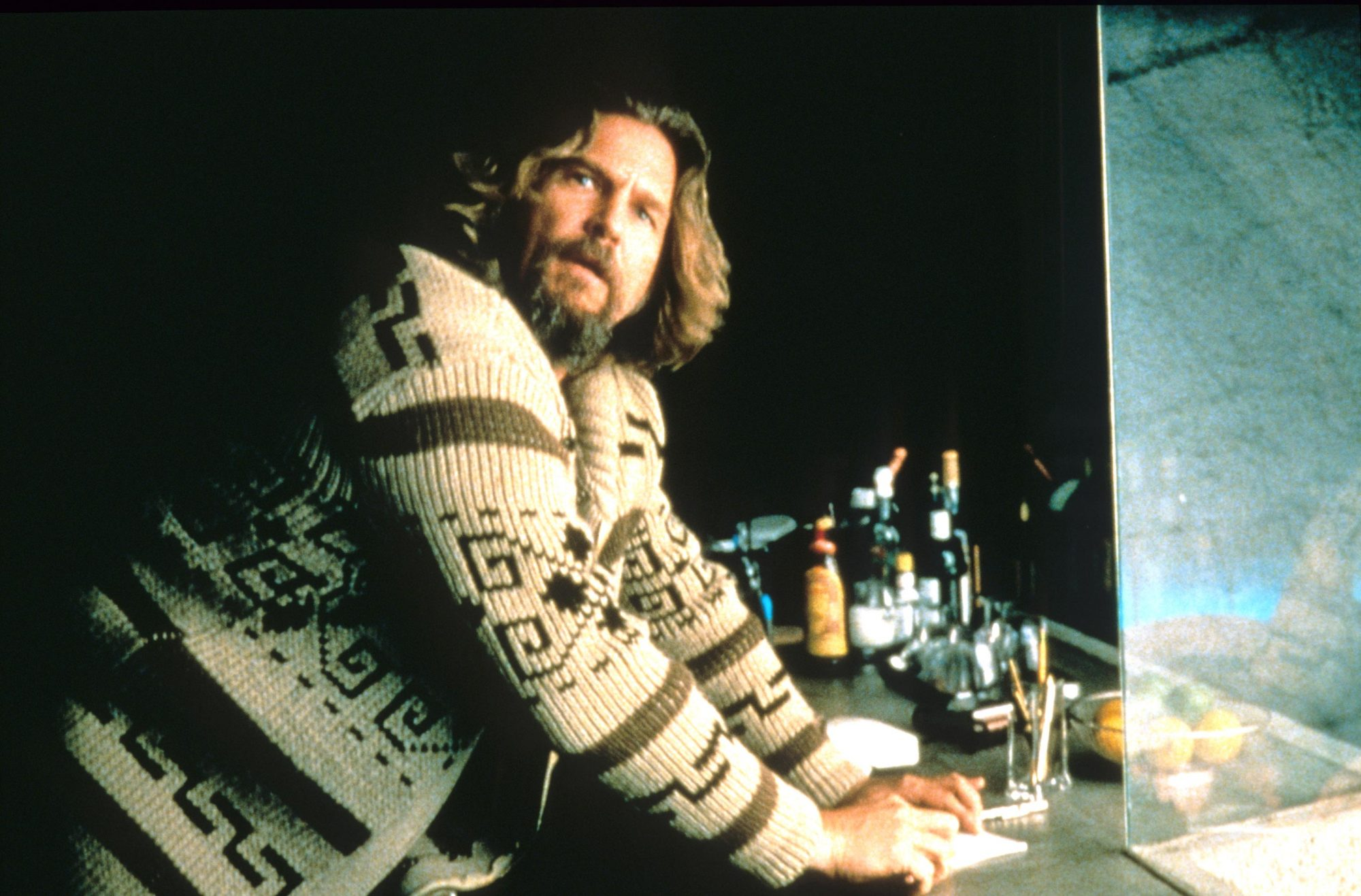 THE BIG LEBOWSKI, Jeff Bridges, 1998, © Gramercy Pictures/courtesy Everett Collection