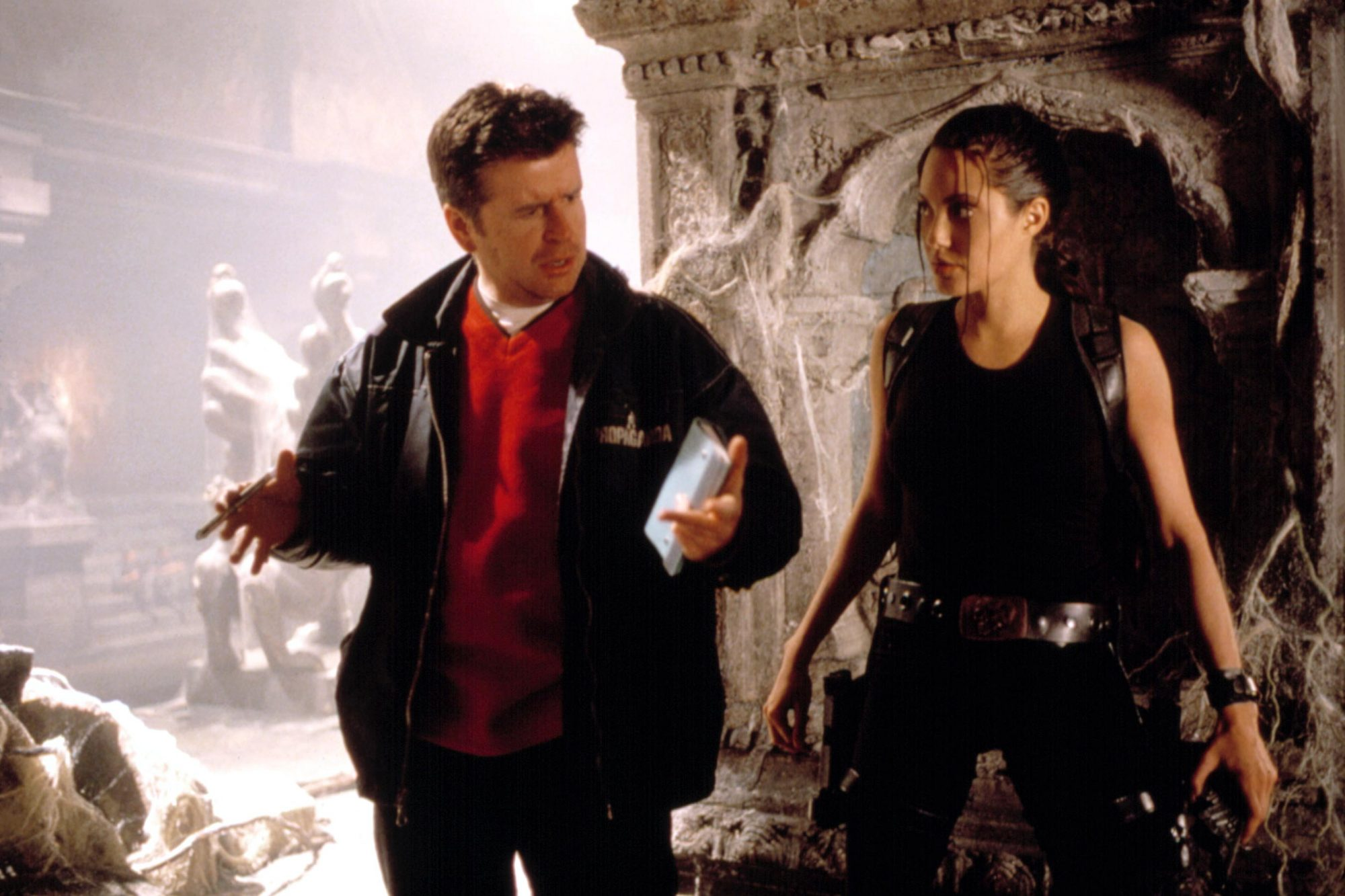 Tomb Raider Director Fought For Angelina Jolie Casting Ew Com