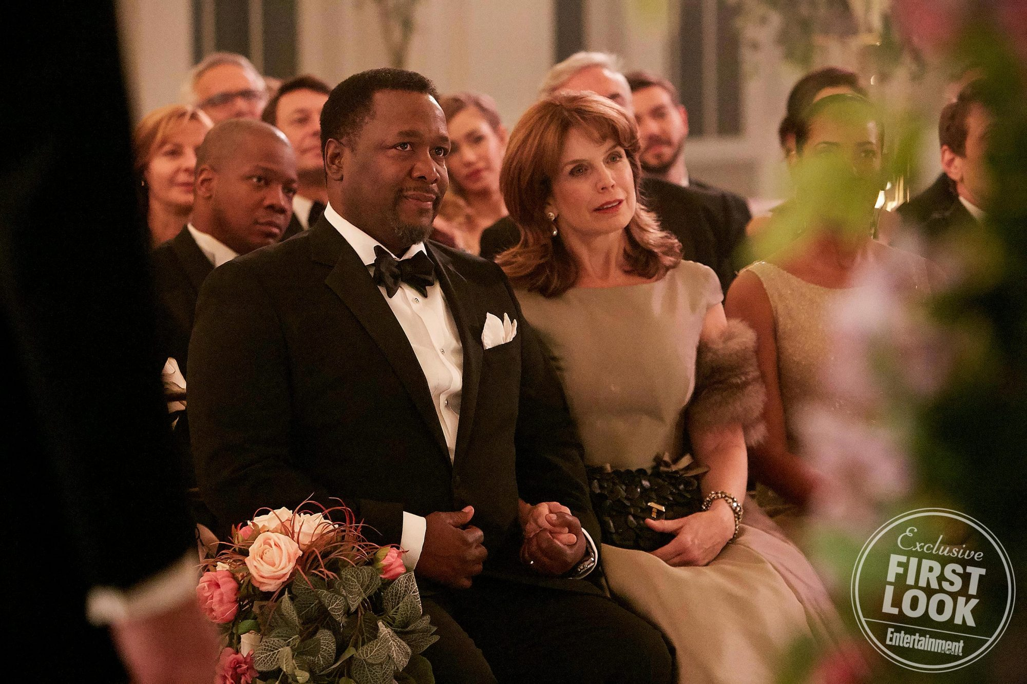 Robert (Wendell Pierce) and Laura Zane (Megan Gallagher)