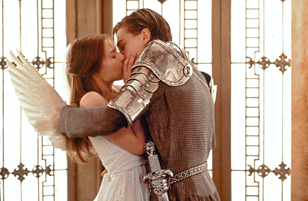 Leonardo DiCaprio | A dazzling Romeo in Baz Luhrmann's reimagining of William Shakespeare's play, DiCaprio's brilliant portrayal of the tragic lover lights up the screen.