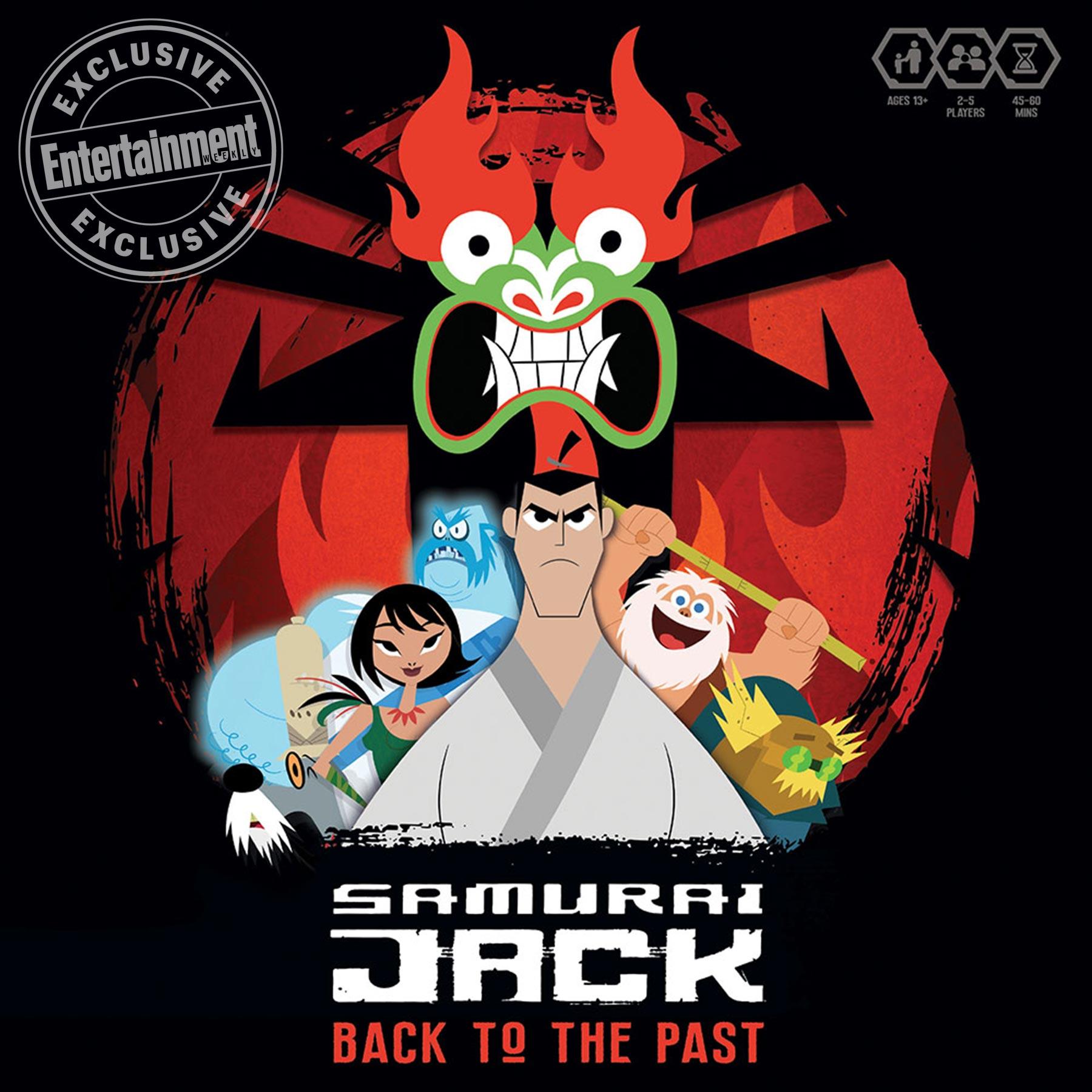 Samurai Jack board game CR: USAopoly, Inc.