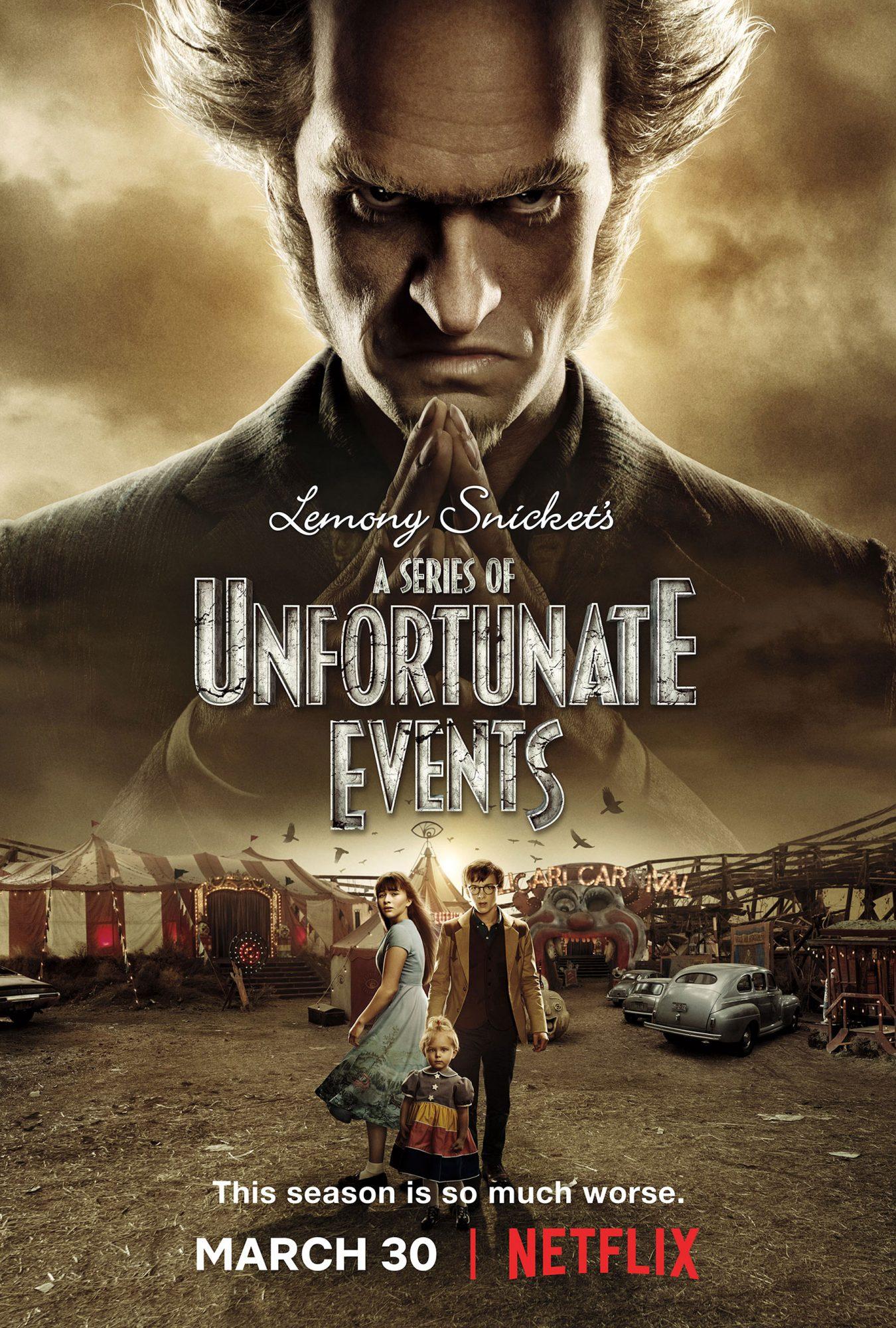 A Series of Unfortunate EventsCredit: Netflix