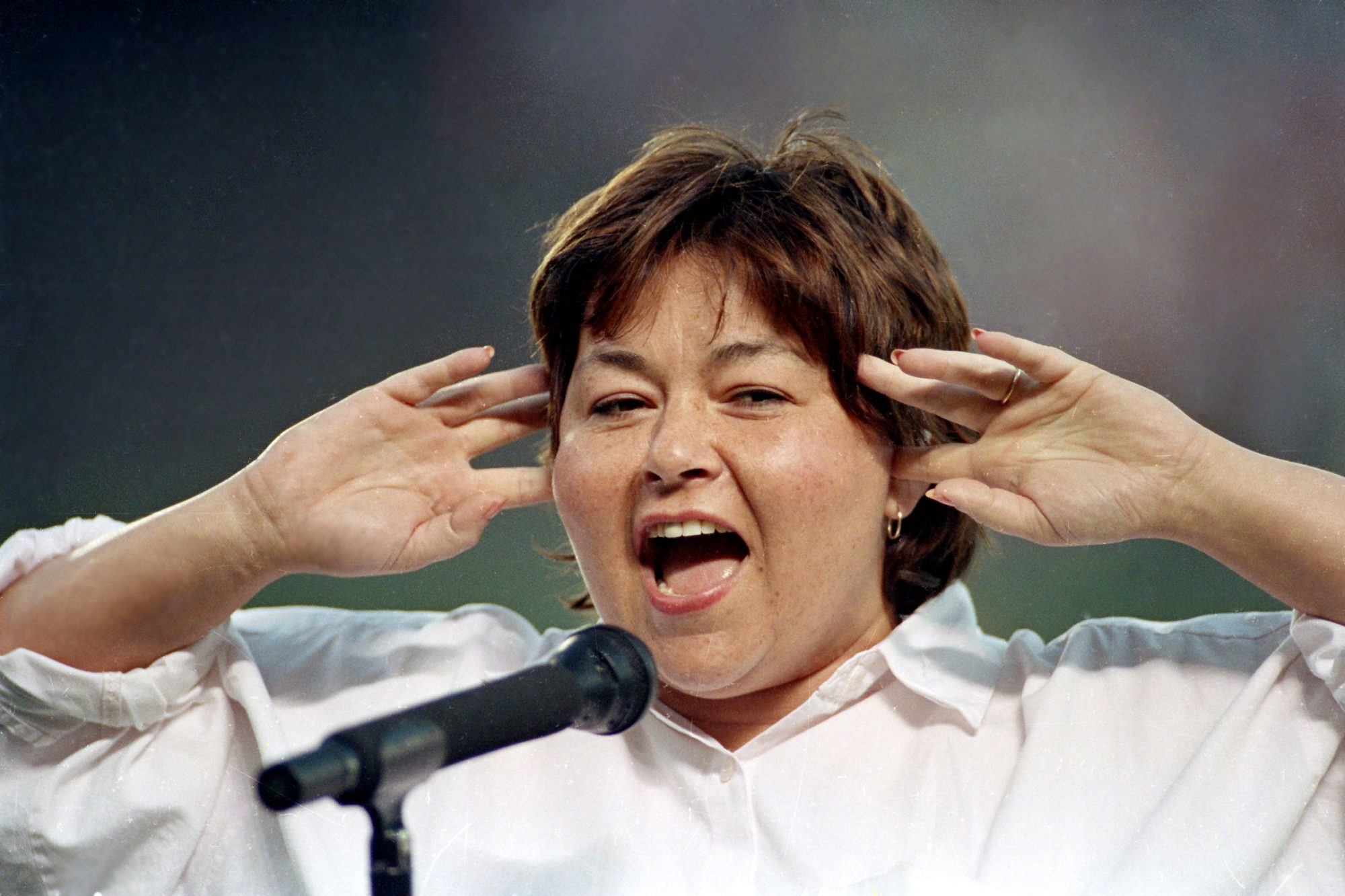 ROSEANNE BARR NATIONAL ANTHEM, SAN DIEGO, USA