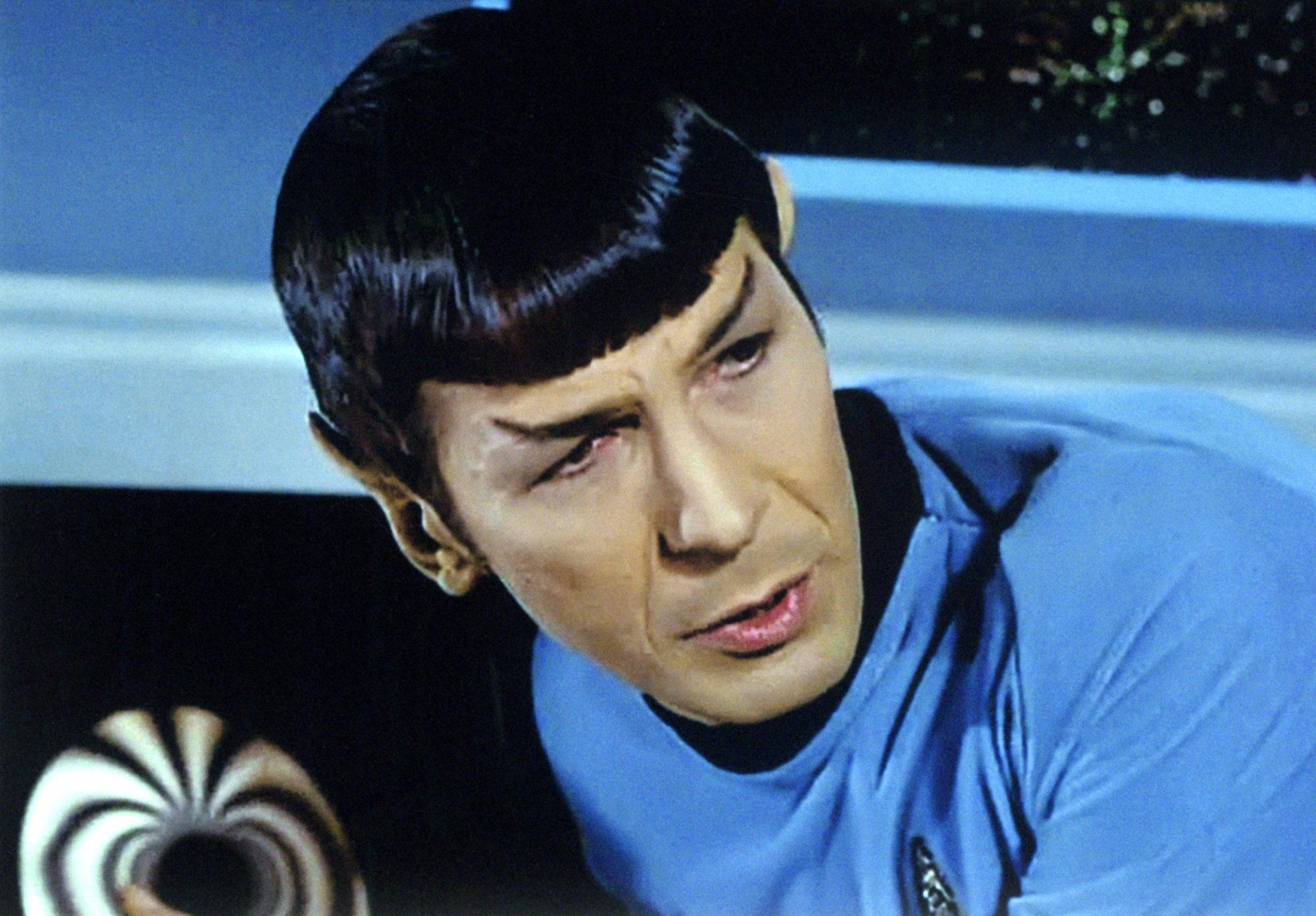 STAR TREK, Leonard Nimoy, 1966-69.
