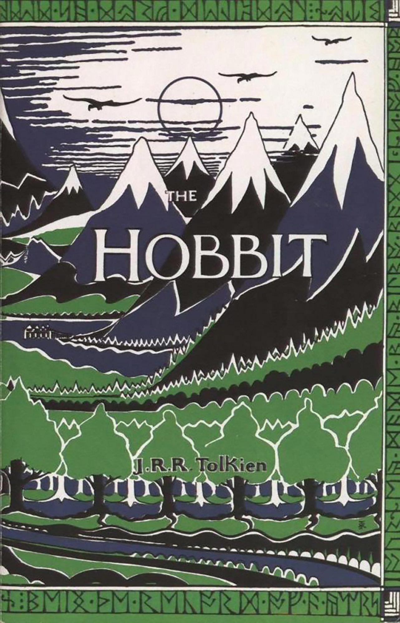 J.R.R. Tolkien, The Hobbit (1937) CR: HarperCollins