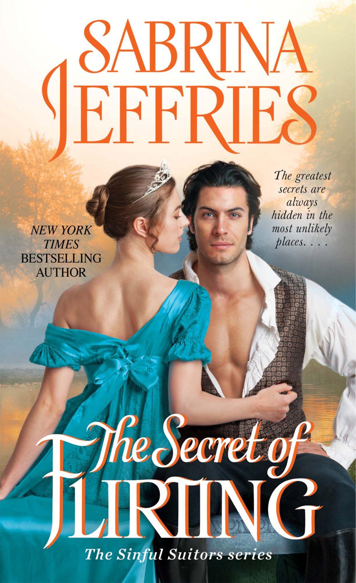 The Secret of Flirting, book cover