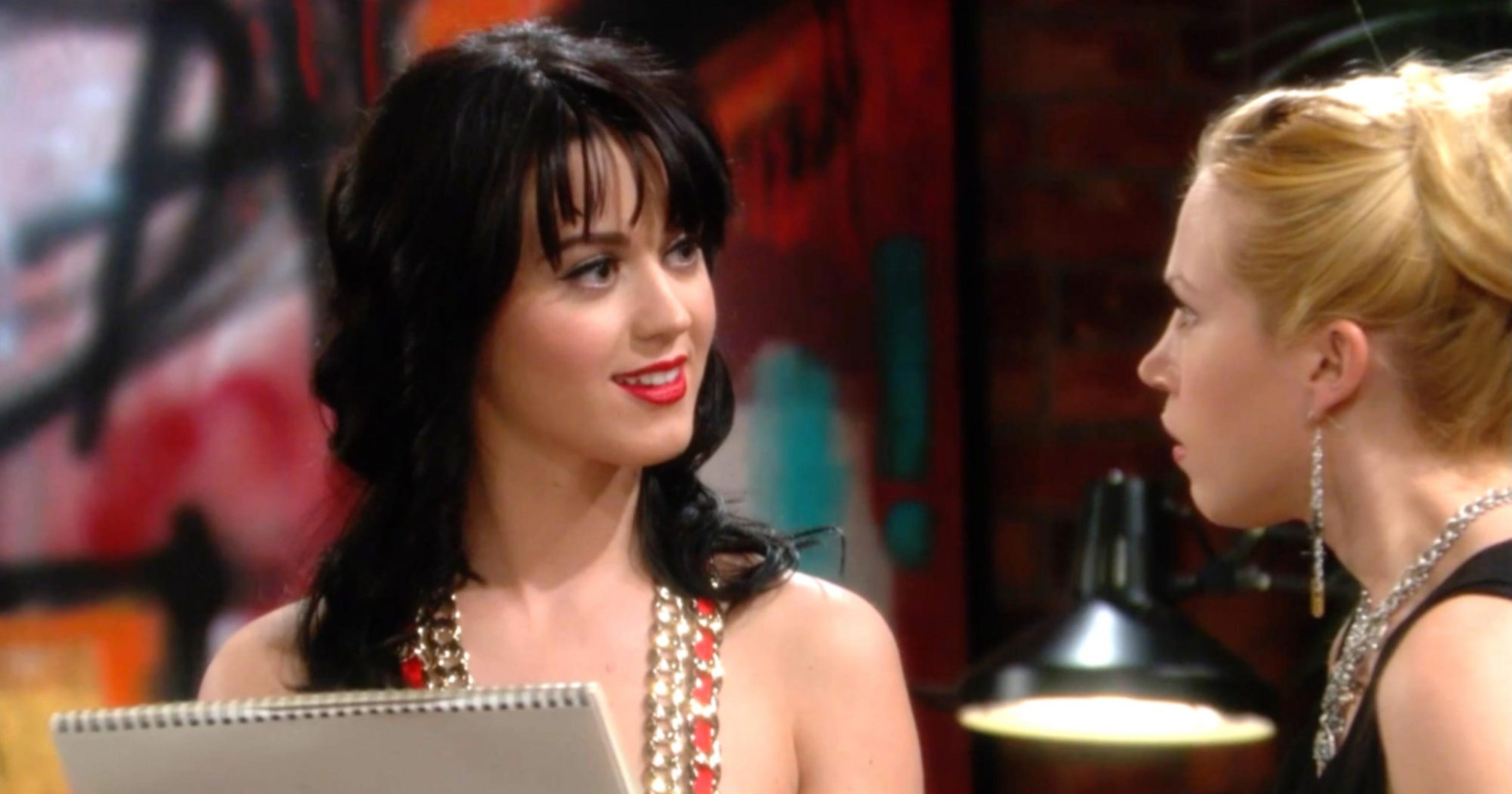 The Young and The Restless -- Pictured: Katy Perry (screen grab) CR: CBS