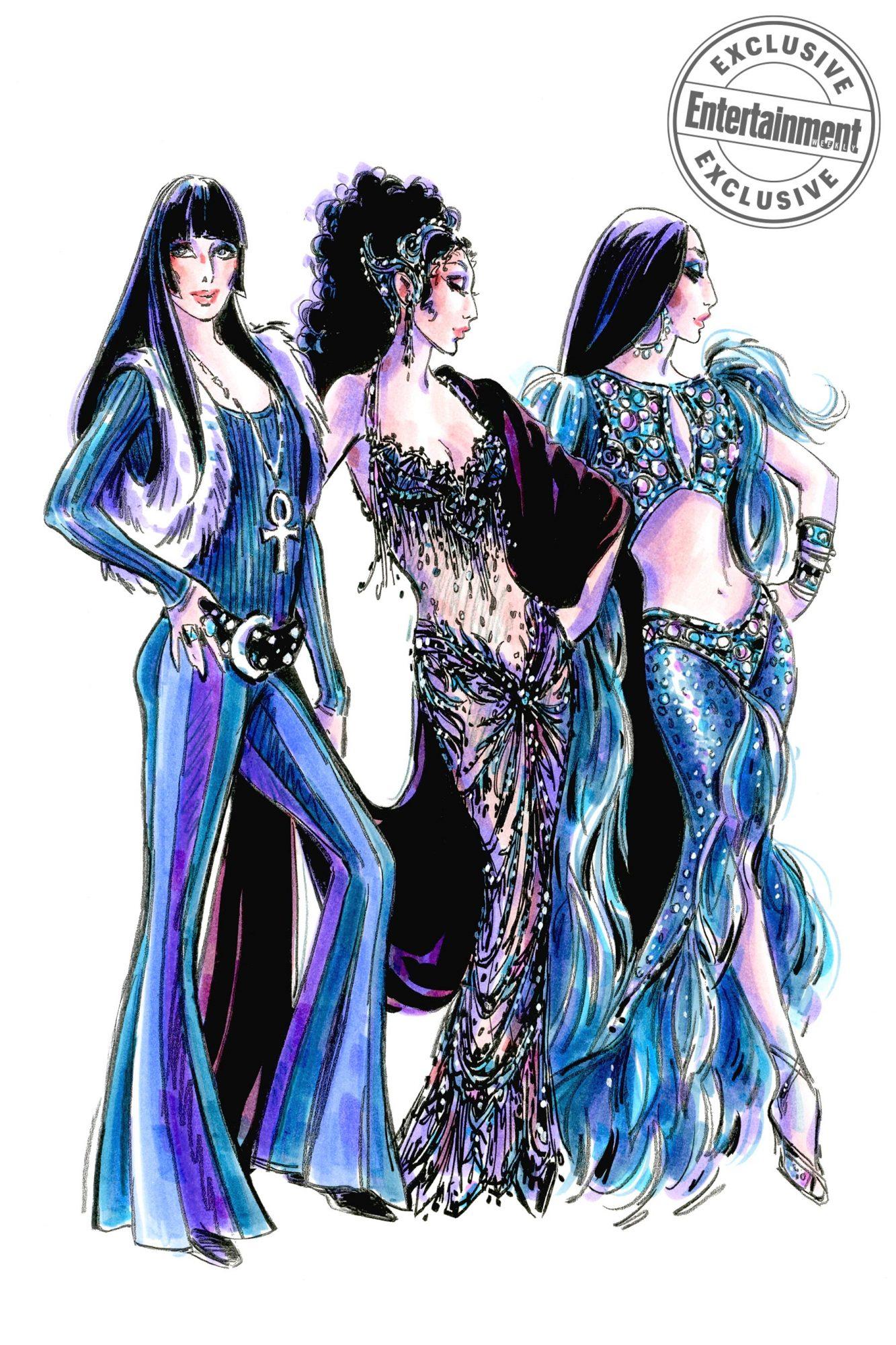 The Cher Show Promo Sketch CR: Bob Mackie