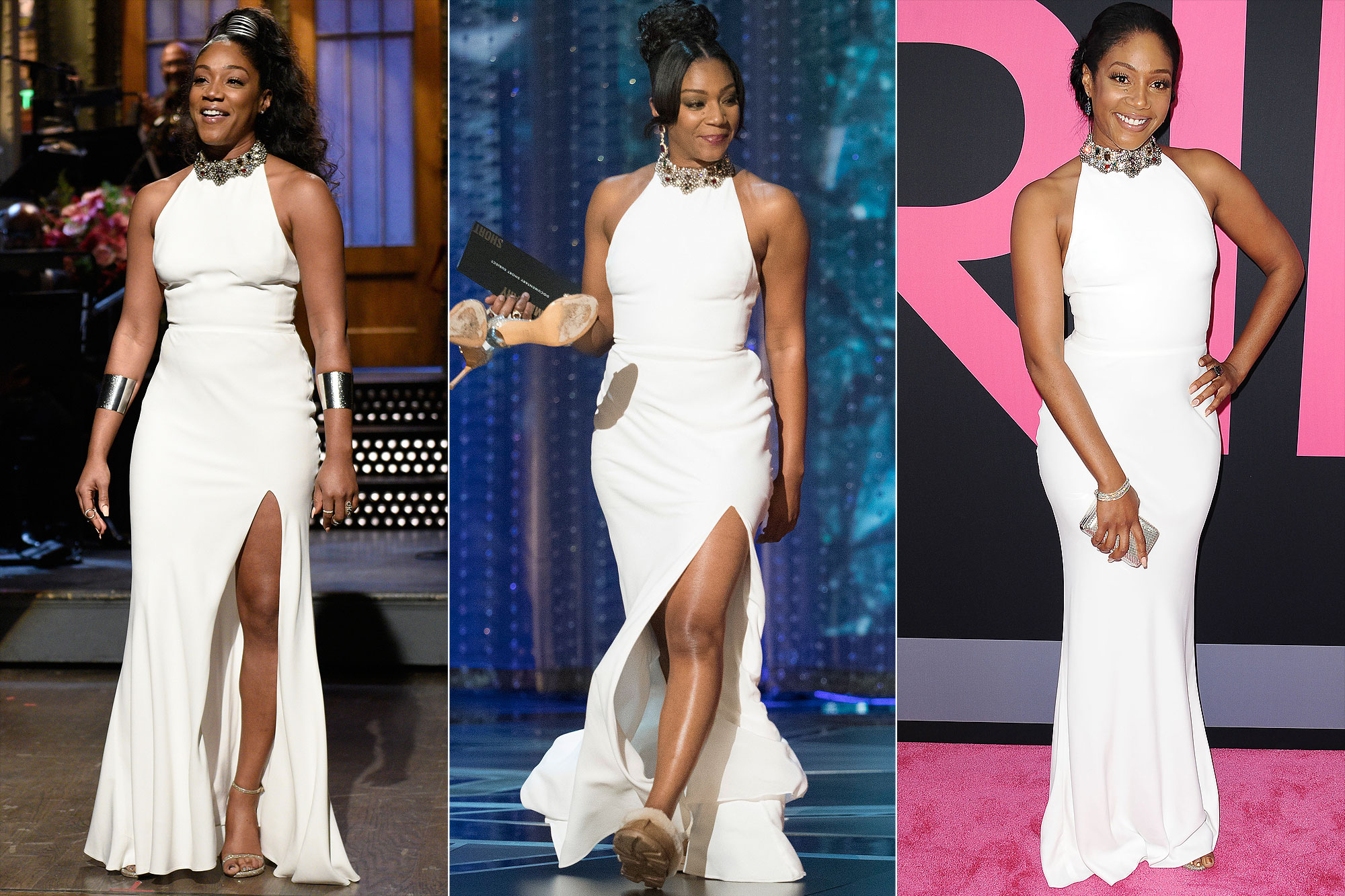 tiffany-haddish-white-dress