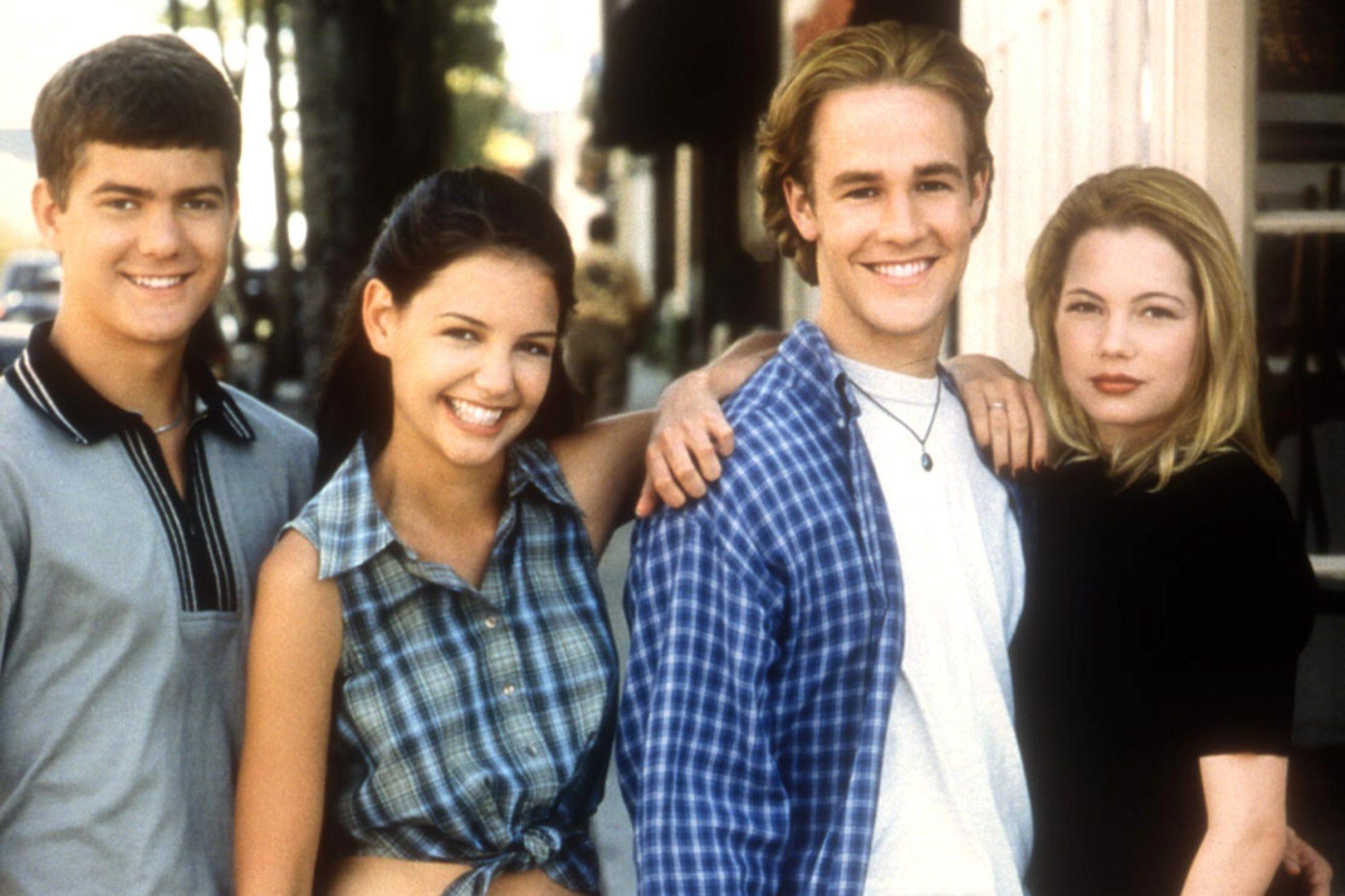 DAWSON'S CREEK, Joshua Jackson, Katie Holmes, James Van Der Beek, Michelle Williams, yr1, 1998, 1998