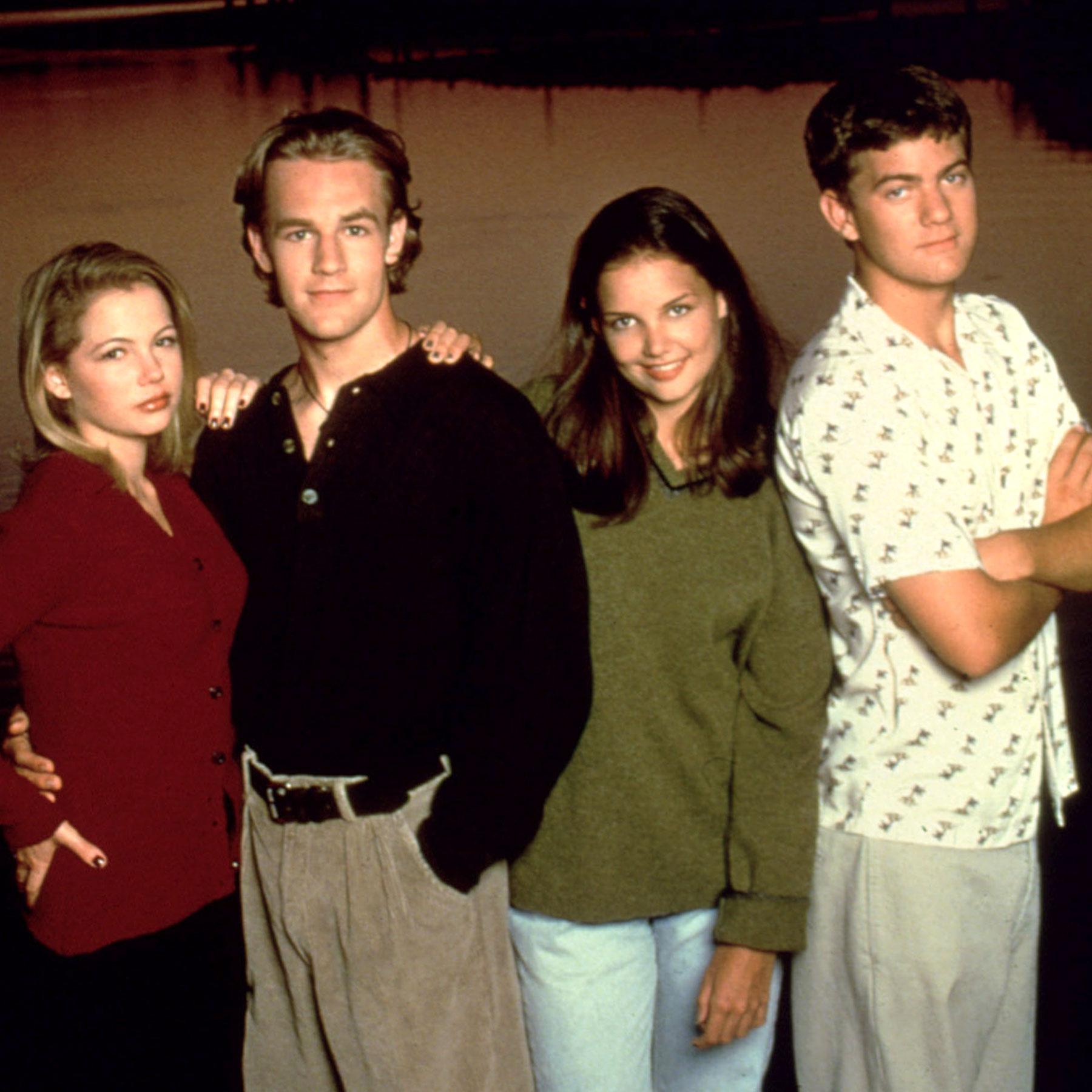 DAWSON'S CREEK, Michelle Williams, James Van Der Beek, Katie Holmes, Joshua Jackson, 1998-present, y