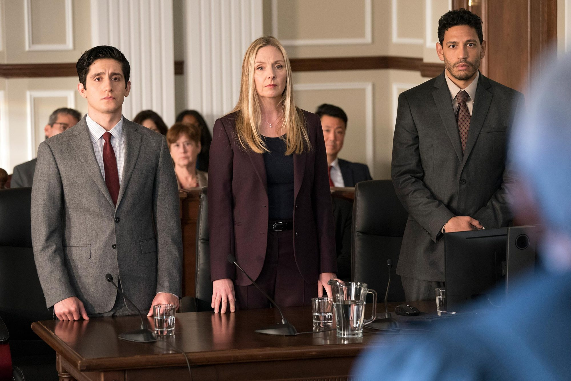 WESAM KEESH, HOPE DAVIS, CHRISTOPHER RIVAS