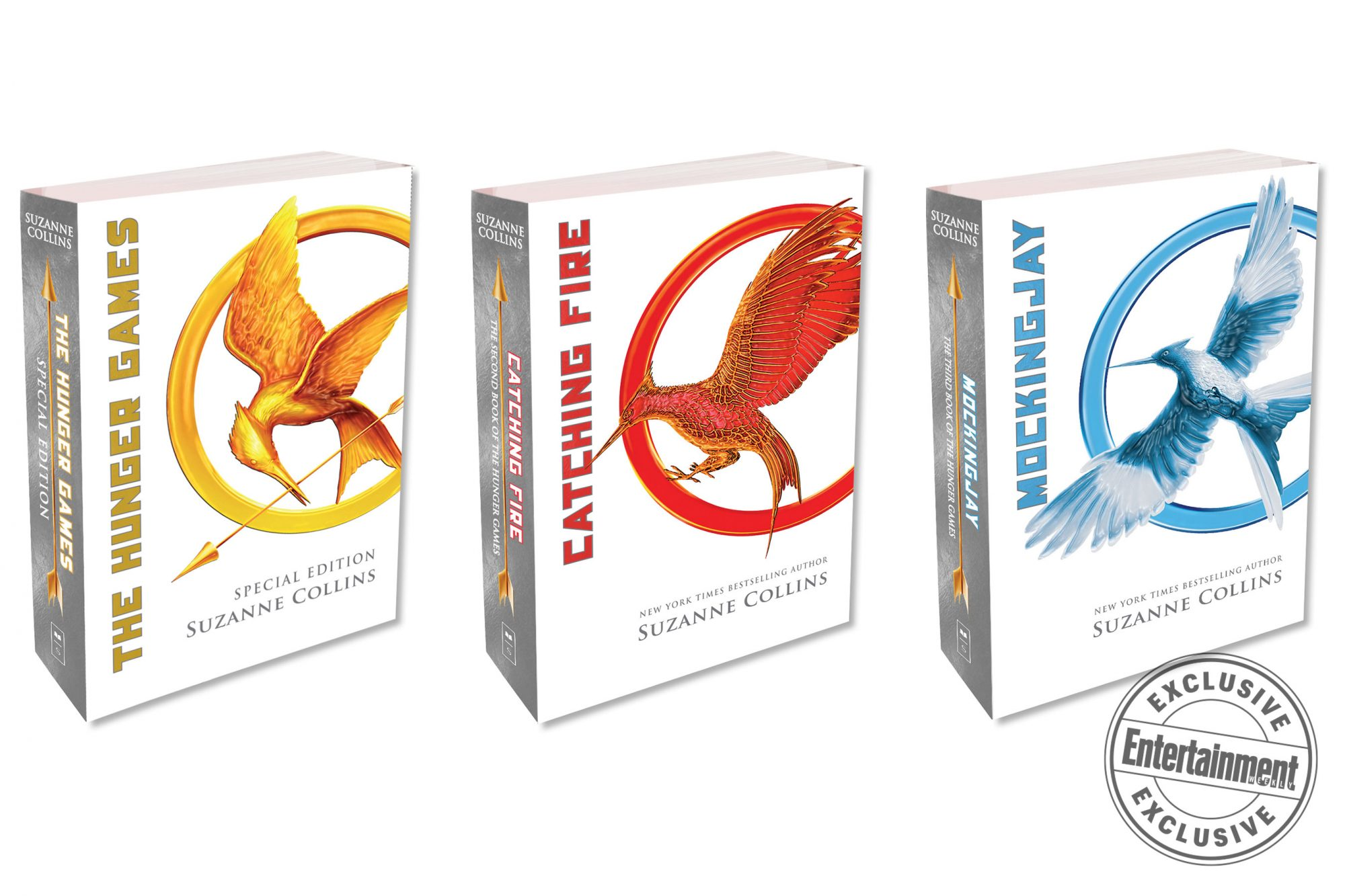 The Hunger Games gets special 10th anniversary covers, new content   EW.com