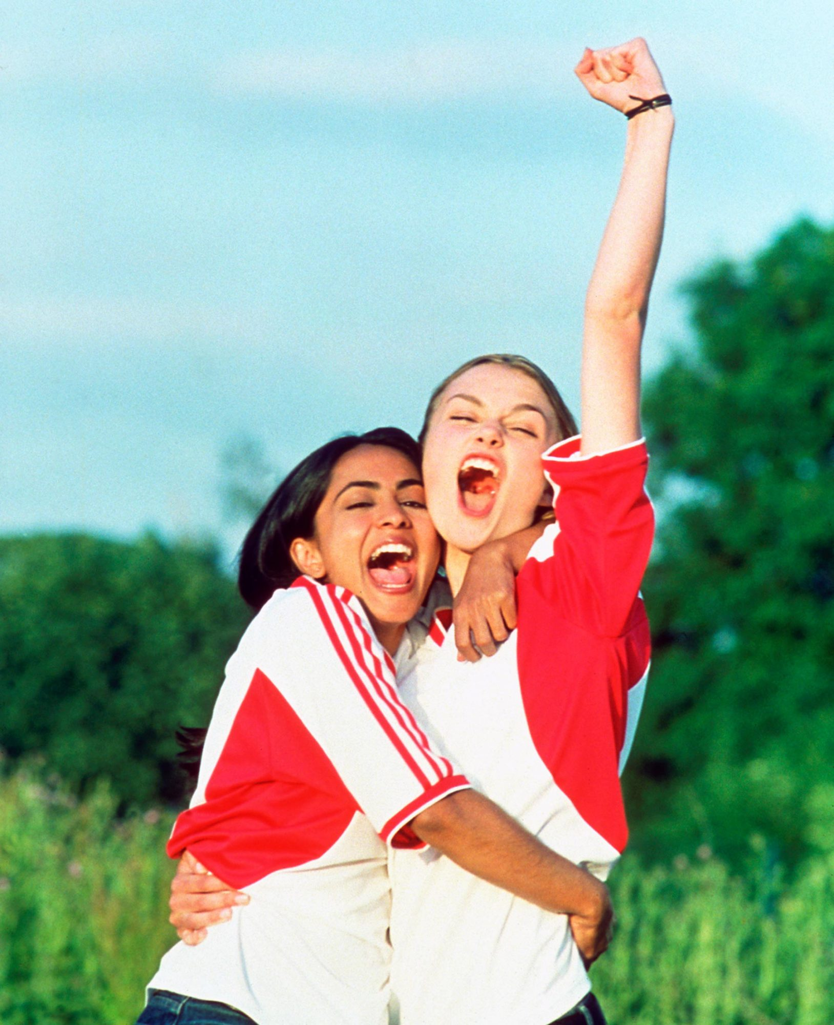 Bend It Like Beckham (2003)Parminder Nagra (L) and Keira Knightley.