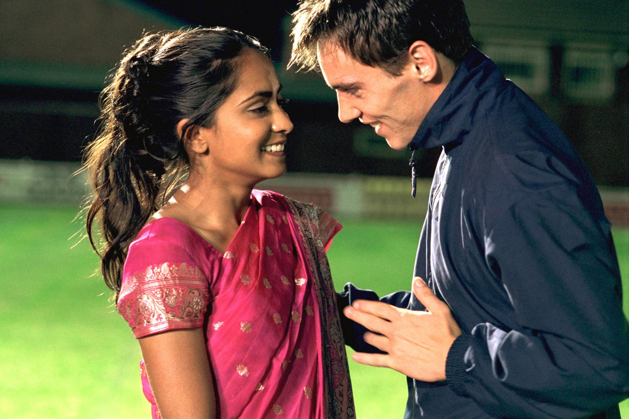 Bend It Like Beckham (2003)Parminder Nagra and Jonathan Rhys-Meyers.