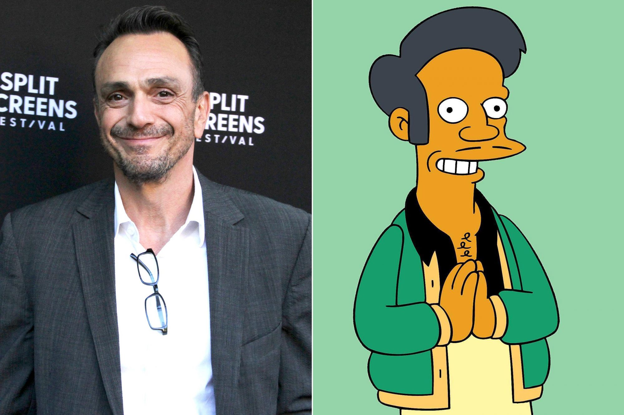 Hank Azaria; Apu from the Simpsons