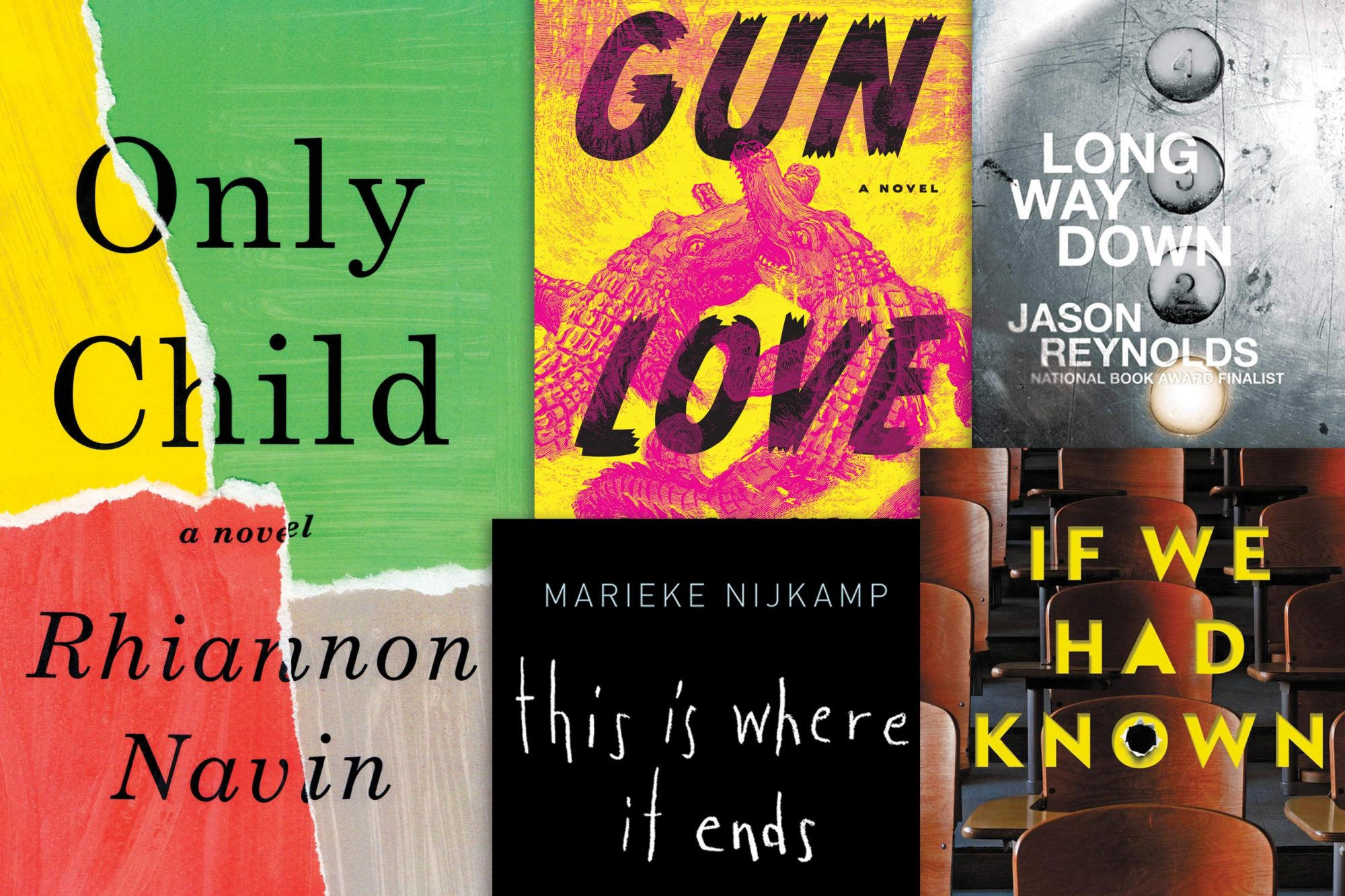 Recent Novels On Gun Violence Ew Com