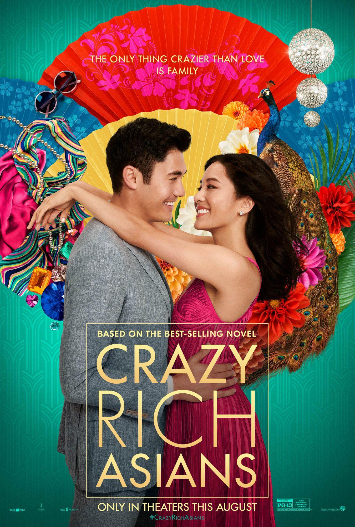 Crazy Rich poster CR: Warner Bros.