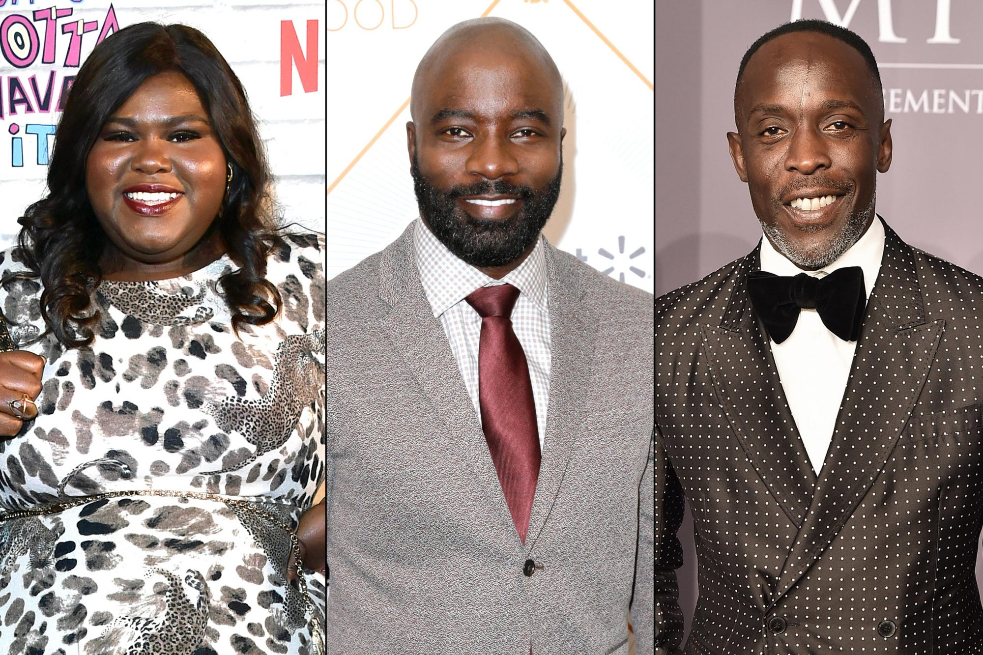 Gabourey-Sidibe-Mike-Colter-Michael-K-Williams