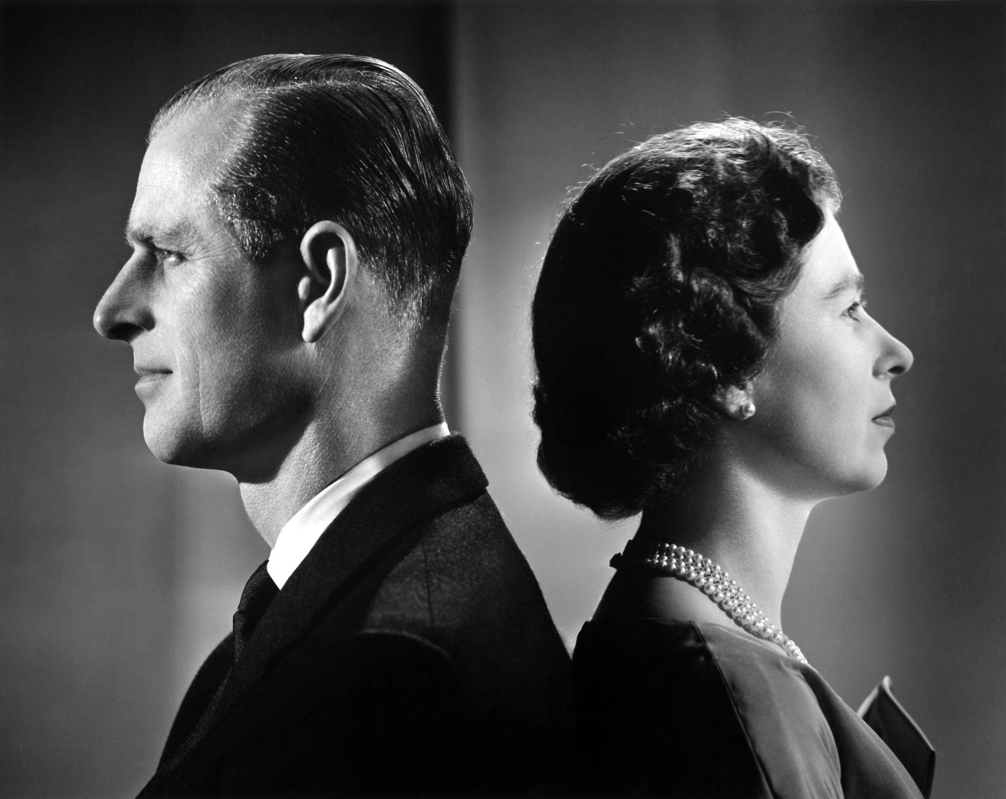 Queen Elizabeth II And Prince Philip Portrait