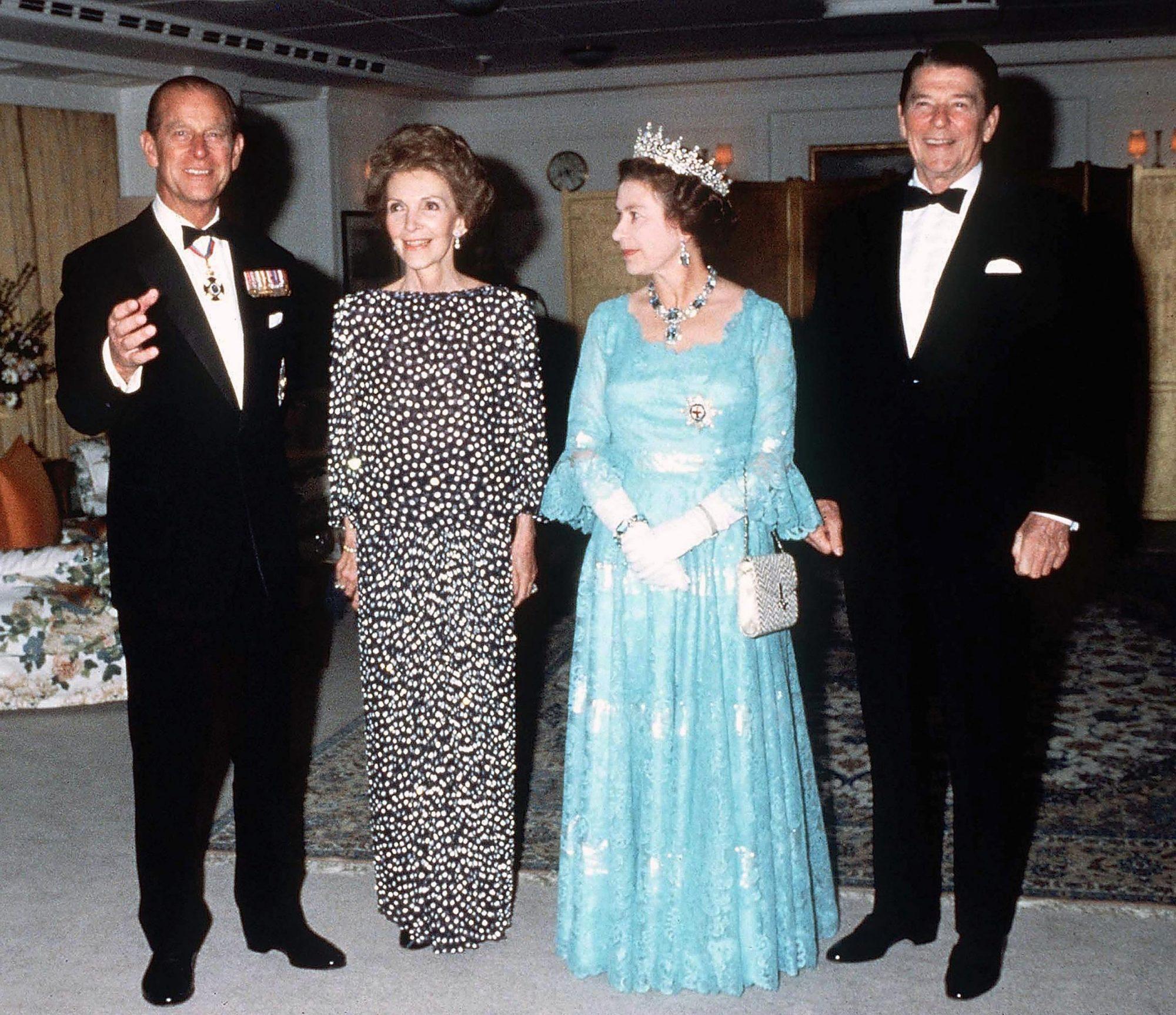 FILE PHOTOS: Former President Ronald Reagan Dies At Age 93
