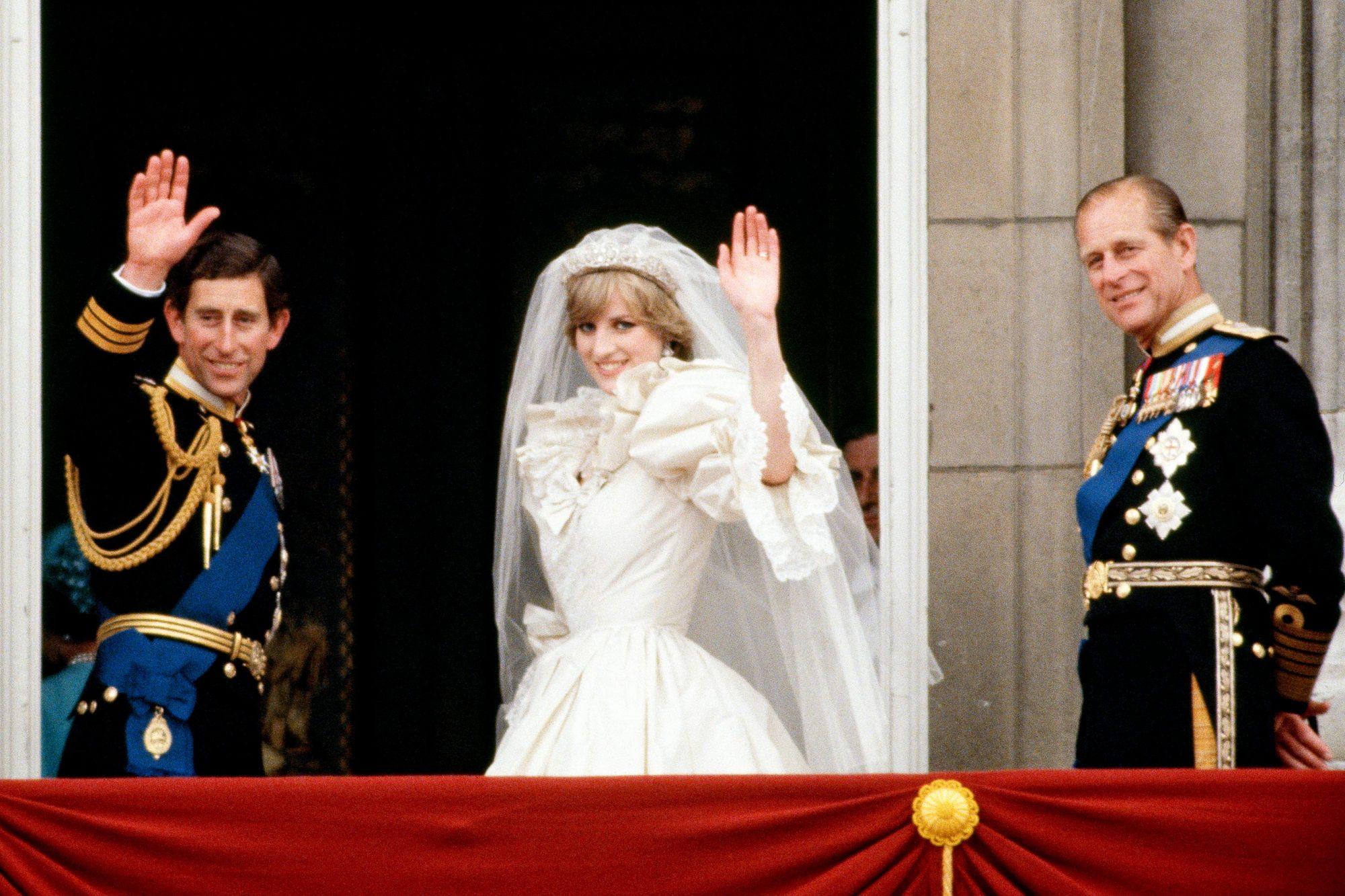 Royal Wedding Prince And Princess Of Wales