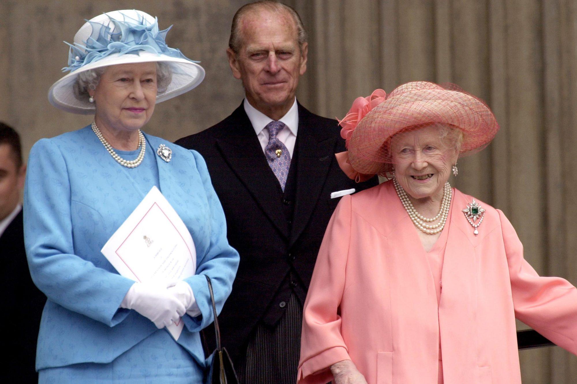 Queen Mother Queen And Philip