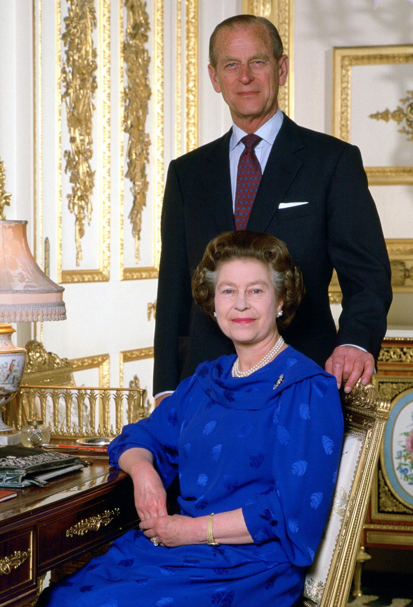 Queen Philip At Home Windsor Castle