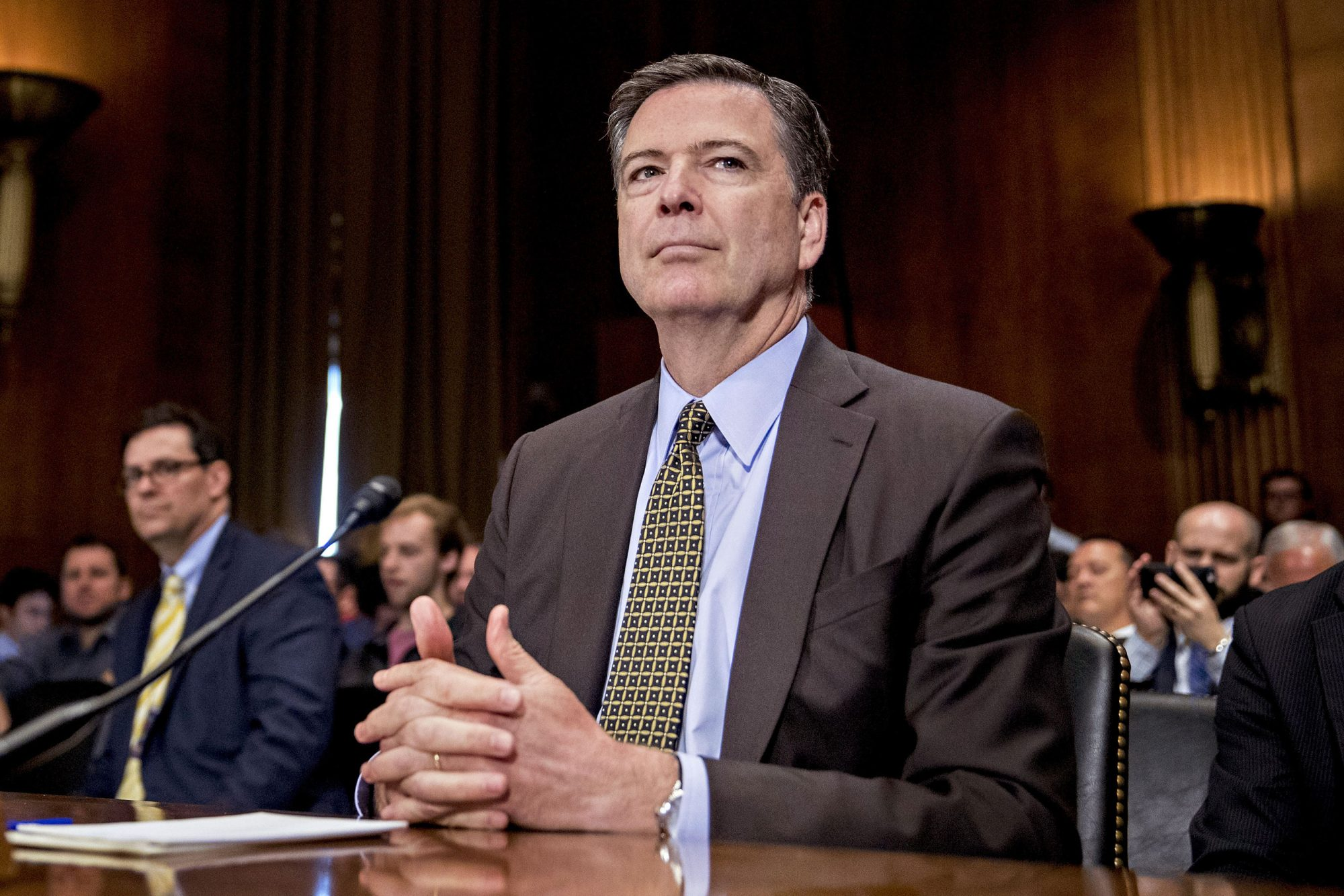 FBI Director James Comey Testifies During Senate Judiciary Hearing