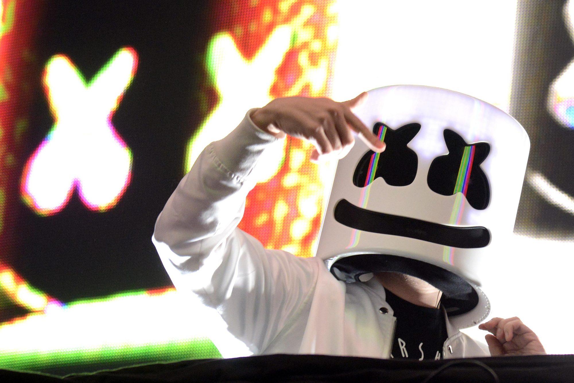 Marshmello Performs At The Bill Graham Civic Auditorium