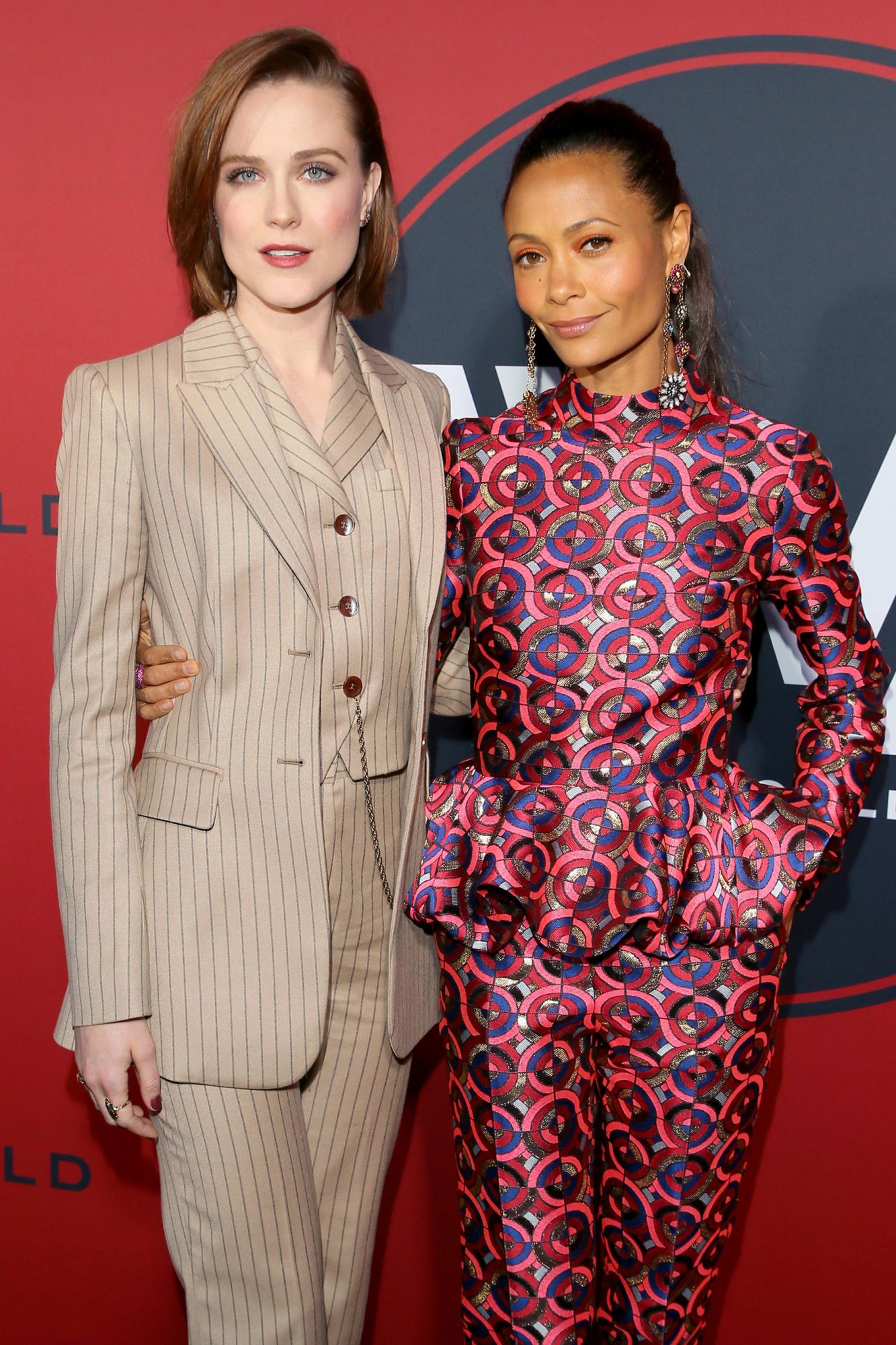 Evan Rachel Wood  and Thandie Newton